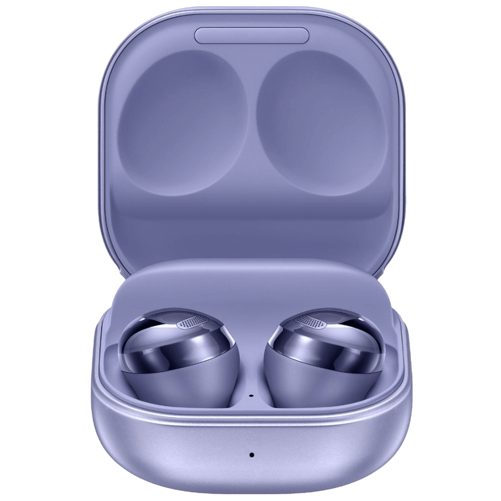 Samsung Galaxy Buds Pro In-Ear Truly Wireless Earbuds with Mic (Bluetooth 5.0, Bixby Supported, SM-R190NZVAINU, Phantom Violet)
