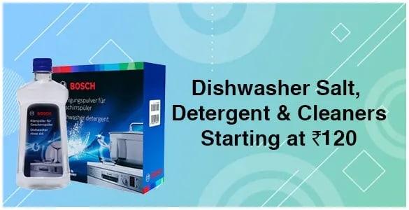 Dishwasher, Salt & Cleaners