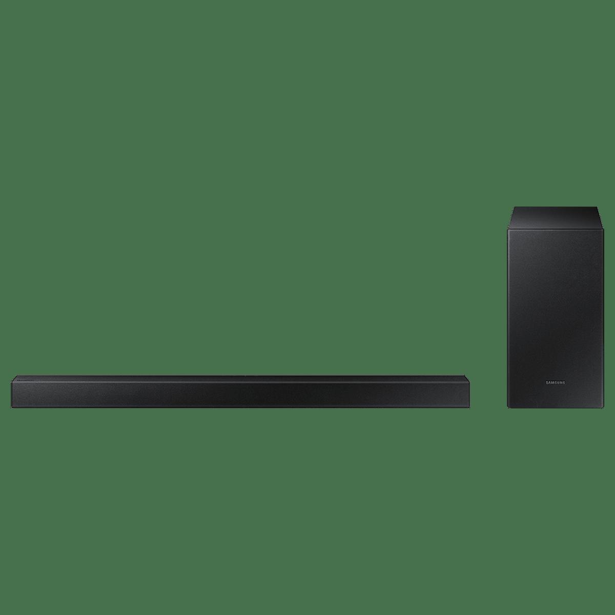 Samsung 2.1 Channel 150 Watts Soundbar with Subwoofer (Wireless Surround Sound, HW-T420/XL, Black)