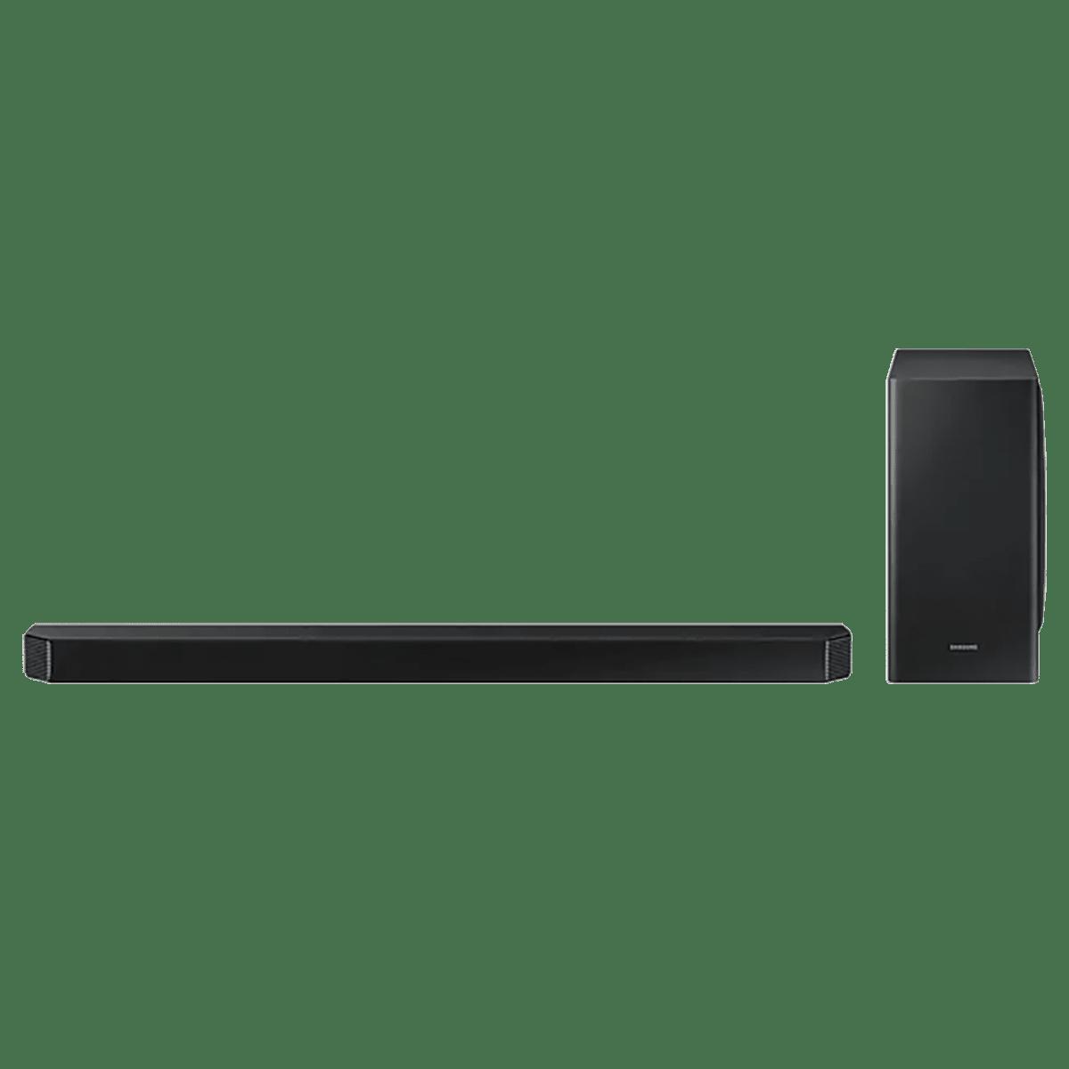 Samsung 7.1.2 Channel 406 Watts Q-Symphony SoundBar with Subwoofer (Built -in Voice Assistant, HW-Q900T/XL, Black)