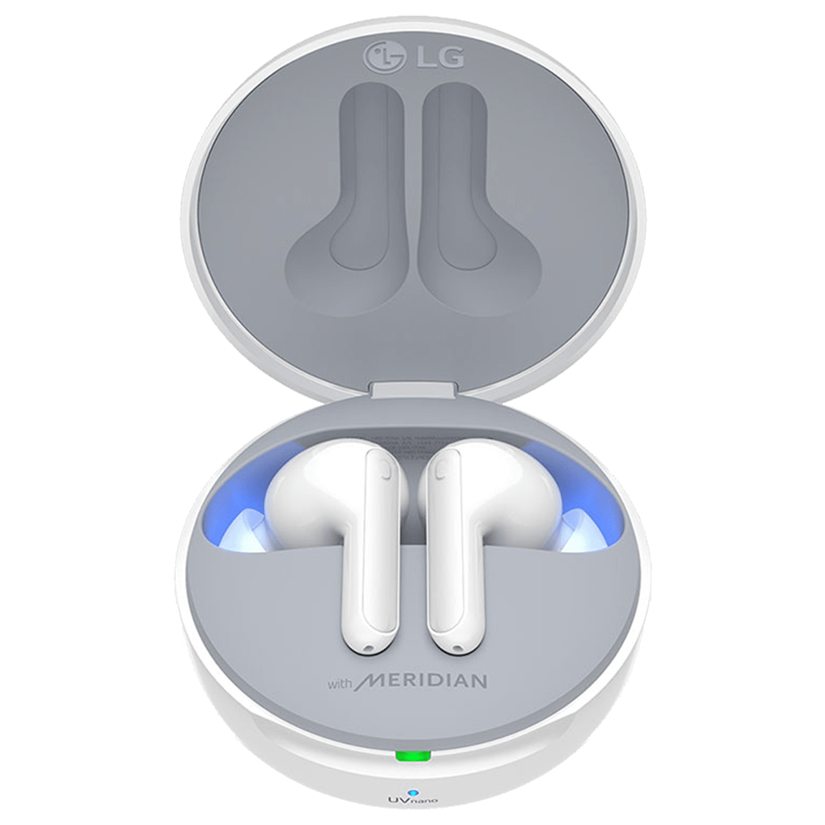 LG Tone Free In-Ear Active Noise Cancellation Truly Wireless Earbuds with Mic (Bluetooth 5.0, Meridian Technology, HBS-FN7.ABILWH, White)