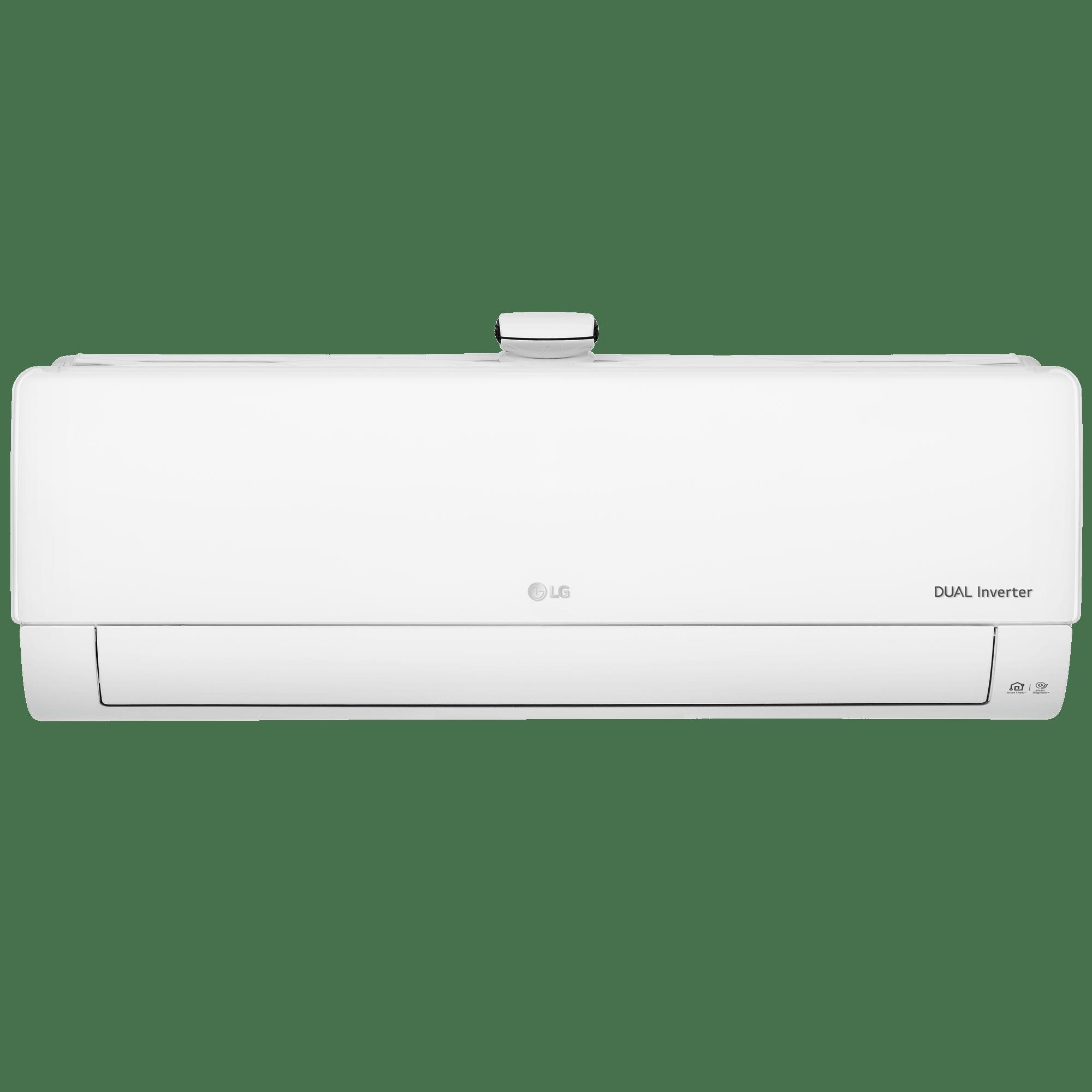 LG 1.5 Ton 5 Star Inverter Split AC (Air Purification Function, Wi-Fi, Copper Condenser, MS-Q18APZE, White)