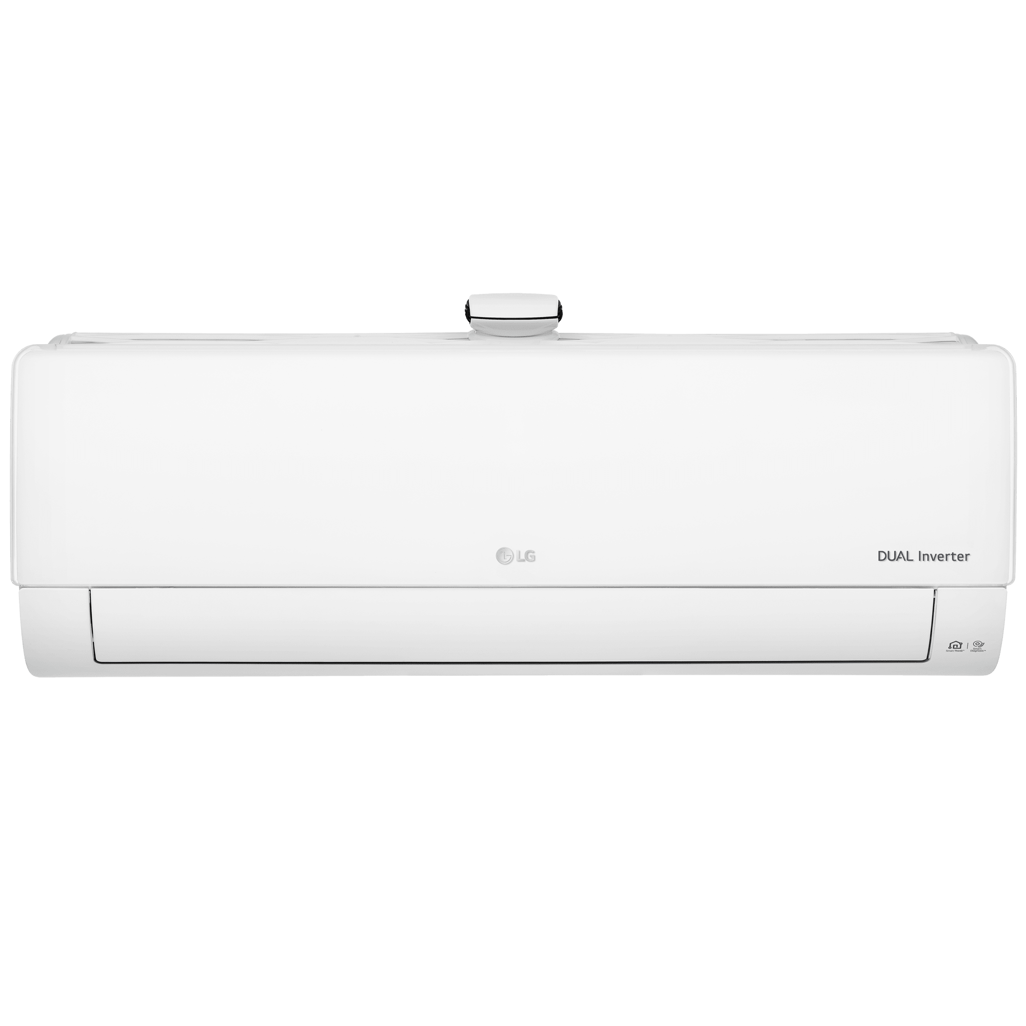 LG 2 Ton 3 Star Inverter Split AC (Air Purification Function, Wi-Fi, Copper Condenser, MS-Q24APXE, White)
