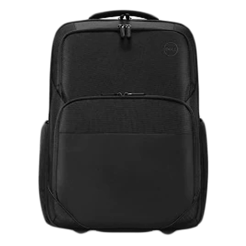 Dell Roller Polyester Backpack for 15 Inch Laptop (Travel Trolley Combination, 460-BDBH, Black)
