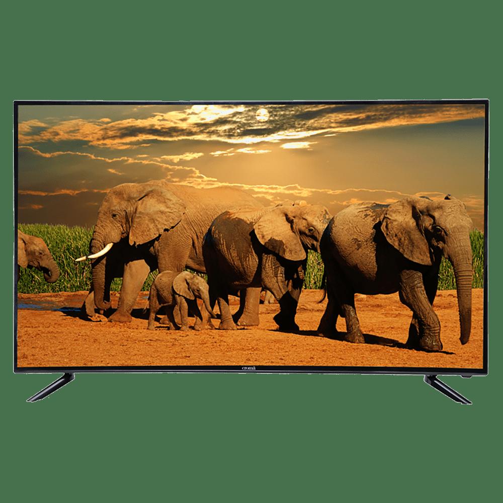 Croma 140 cm (55 inch) 4k Ultra HD LED Smart TV (EL7338, Black)
