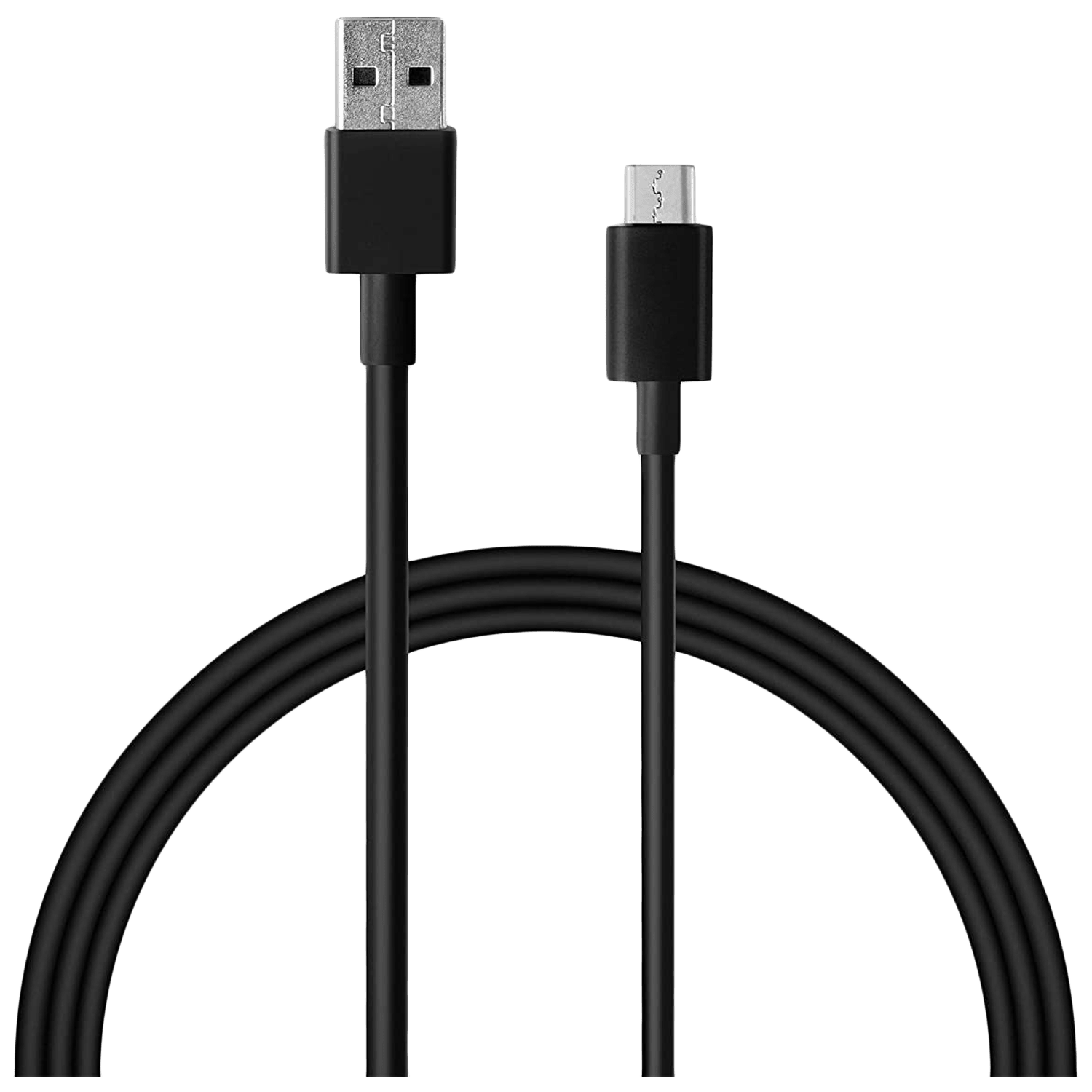 Xiaomi Mi 1 Meter USB 2.0 (Type-A) to USB 3.0 (Type-C) Power/Charging USB Cable (Fast Charging Compatible, BHR4221IN, Black)