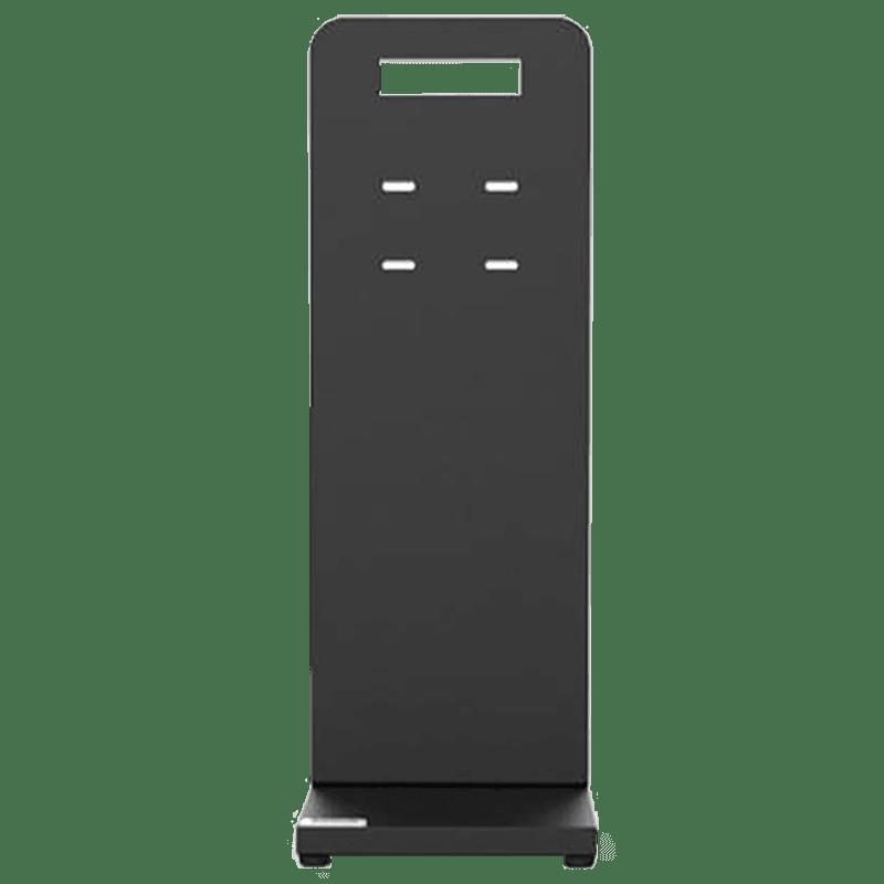 Hi-Genie Sanitizing Device Stand (Sleek and Ergonomic Design, HG-012, Black)