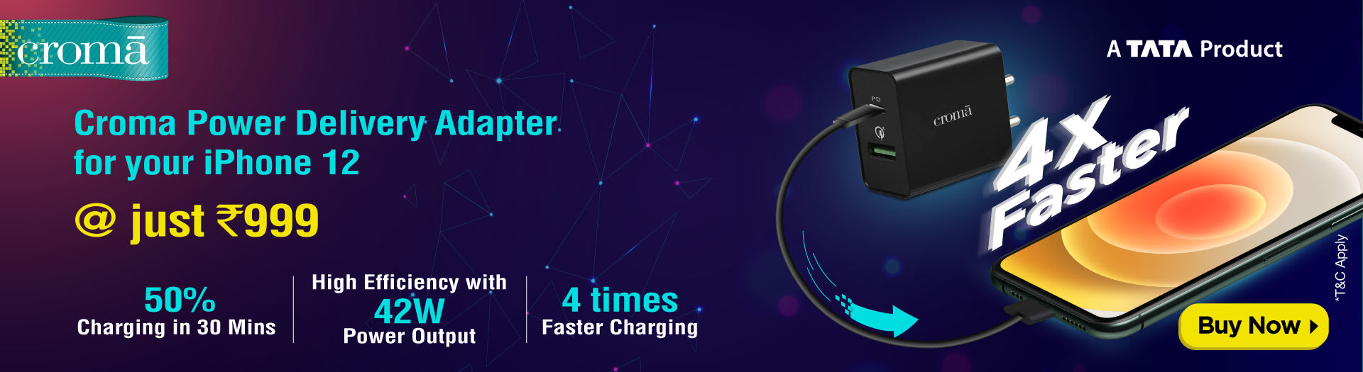 Croma Power Adapter