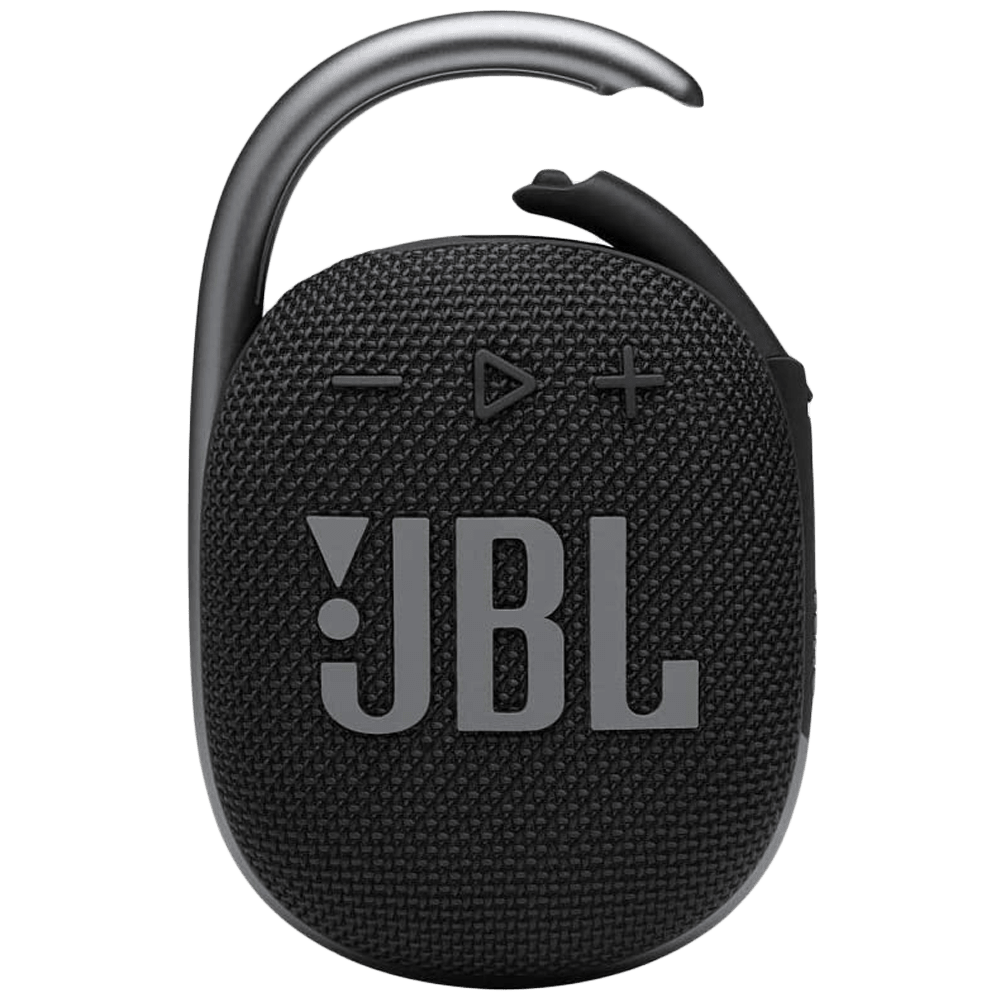 JBL Clip 4 5 Watts Portable Bluetooth Speaker (IP67 Waterproof and Dustproof, Black)