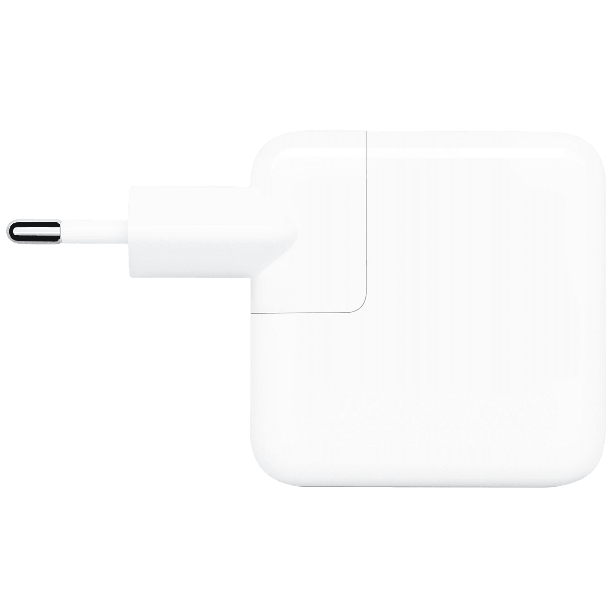 Apple 30 Watts 1-Port Wall Charging Adapter (Fast Charging Capability, MY1W2HN/A, White)