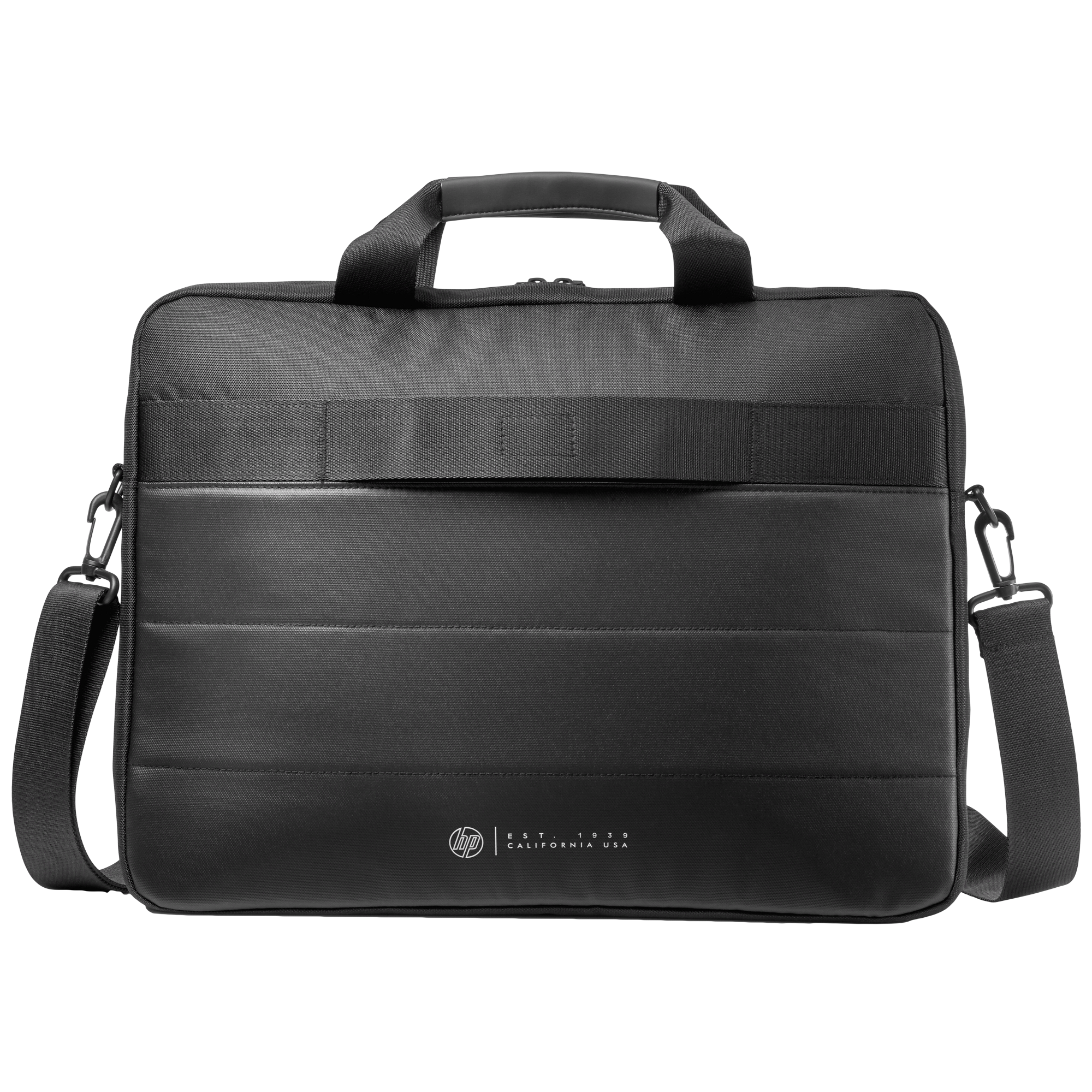 HP Classic 18 Litres Nylon Briefcase for 15.6 Inch Laptop (Water Resistant, 1FK07AA, Black)