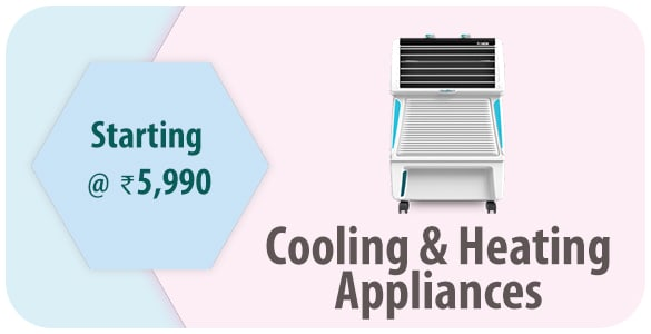 Cooling & Heating Appliances