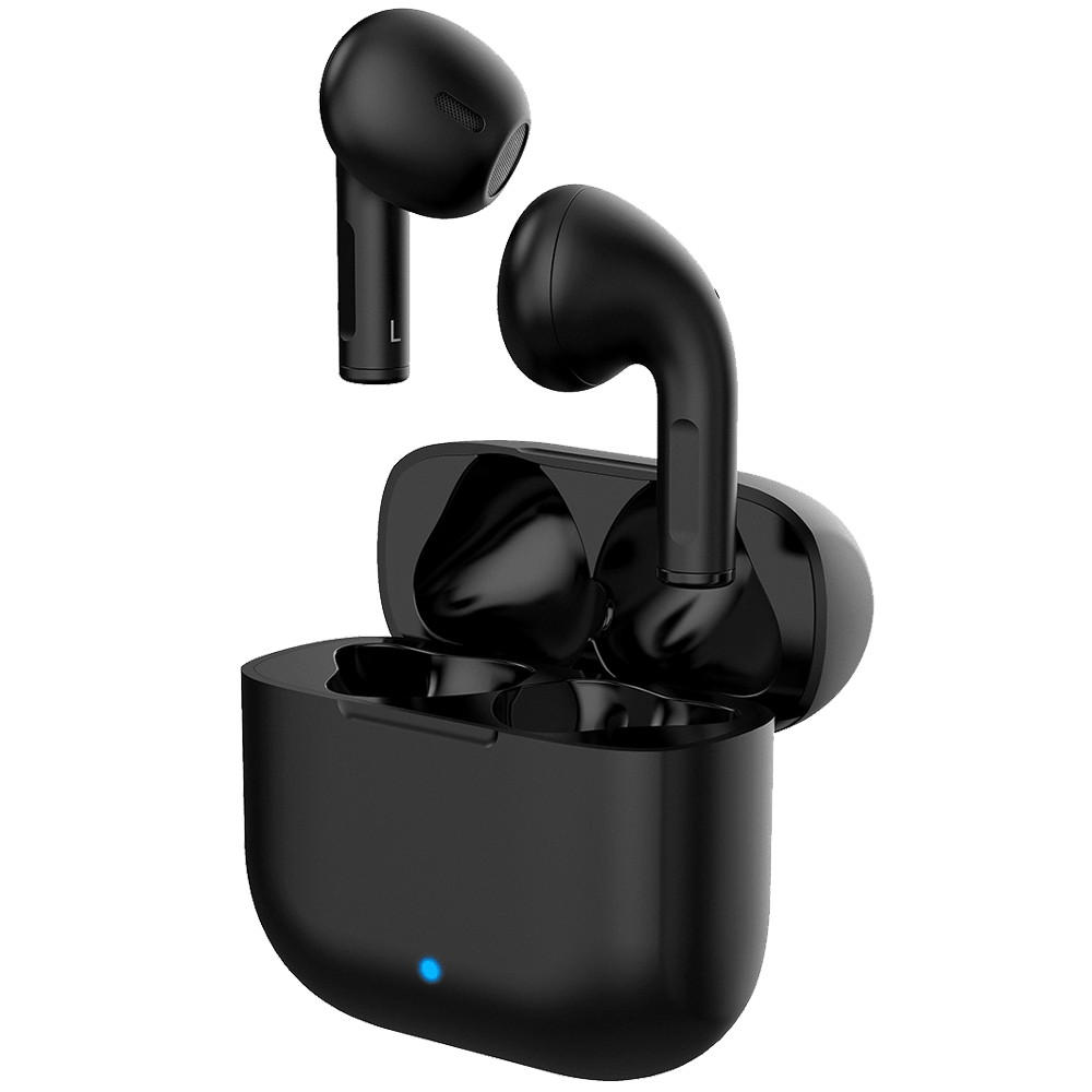 Boompods Zero Buds In-Ear Truly Wireless Earbuds with Mic (Bluetooth 5.0, Google Assistant and Siri Supported, BP-ZBUD-BLK, Black)