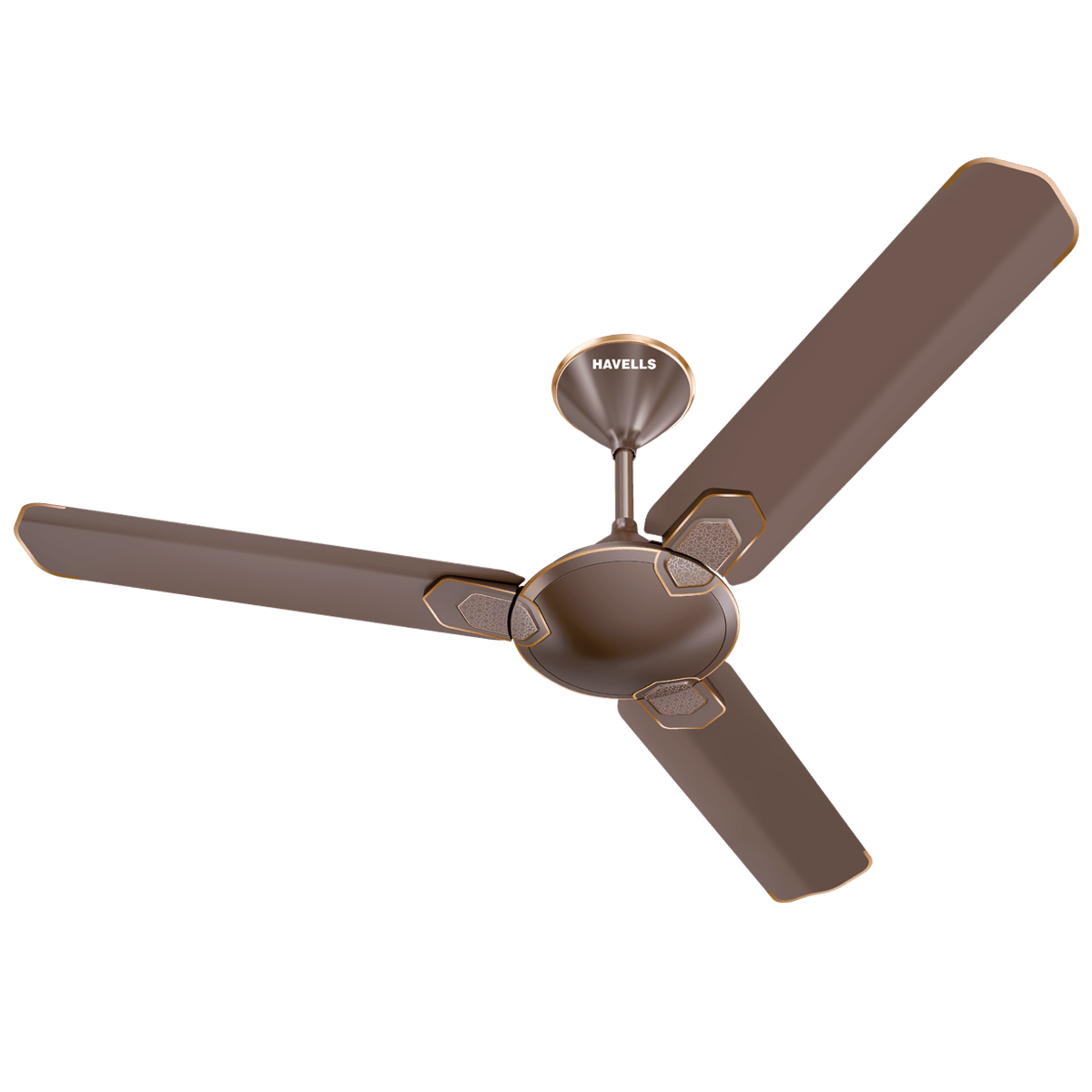Havells Carnesia 120cm Sweep 3 Blade Ceiling Fan (Inverter Compatible, FHCCNSTDLC48, Dusk-LT Copper)