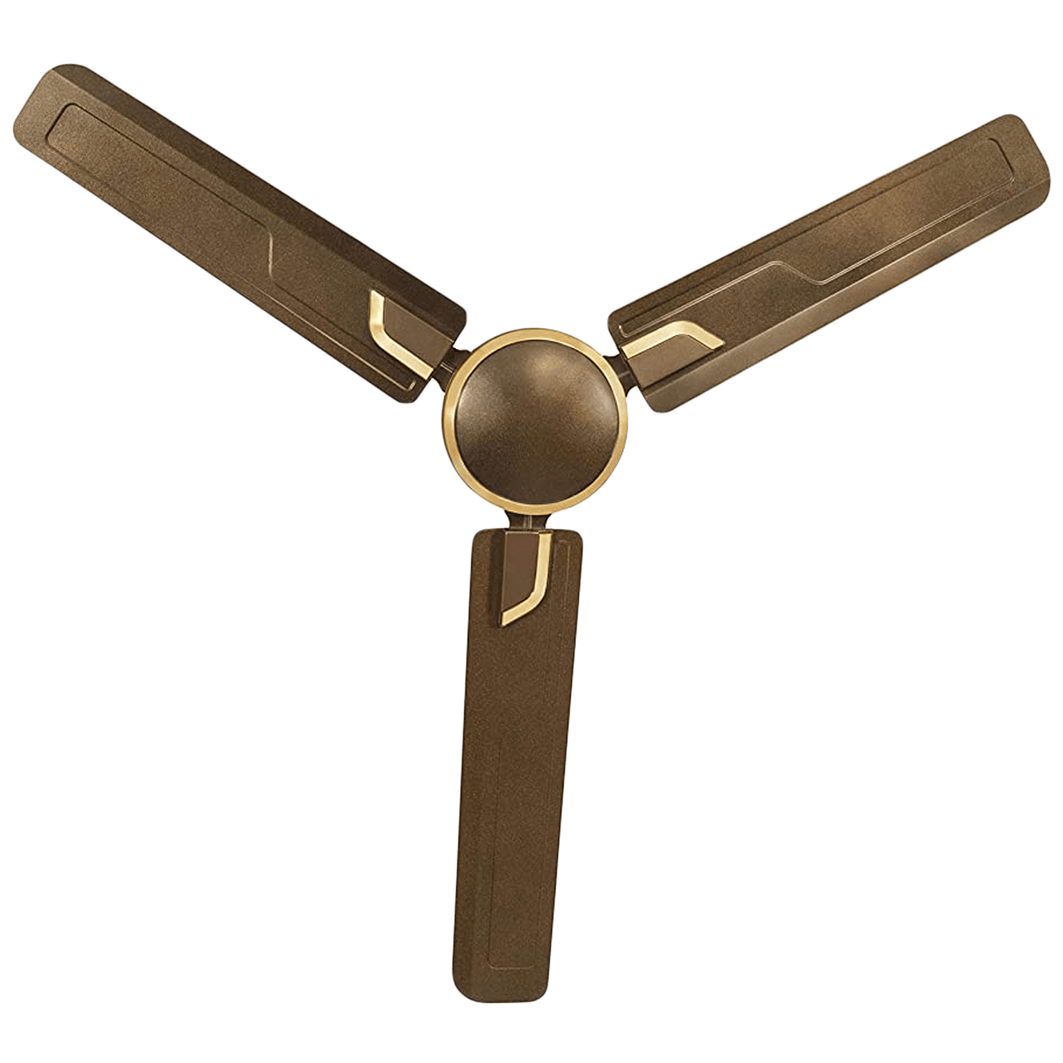 Usha Airostrong 120cm Sweep 3 Blade Ceiling Fan (Double Ball Bearing, 111045196W, Metallic Luxon Gold)