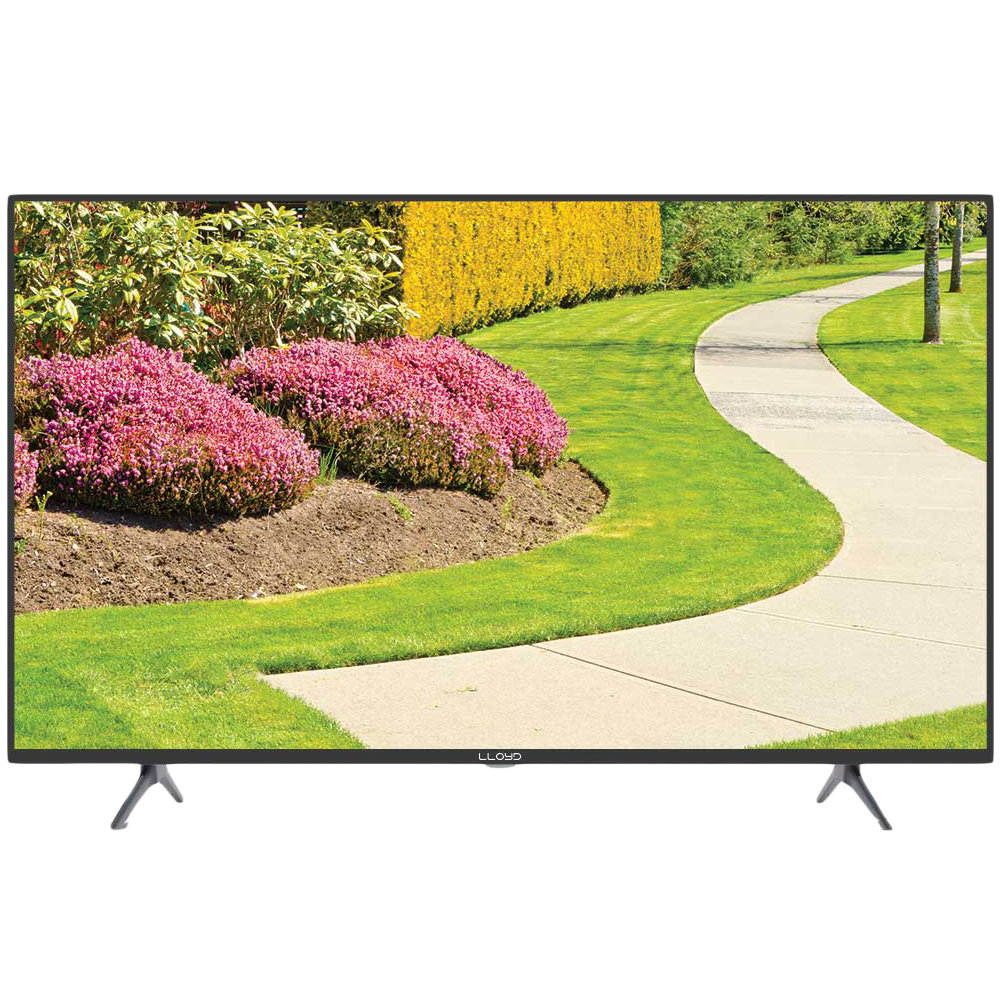 Lloyd 43US900B 108cm (43 Inch) Ultra HD 4K LED Android Smart TV (Dolby Audio, GL43U3J1IA, Black)