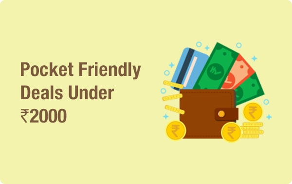 Pocketly Friendly Deals Under Rs.2000
