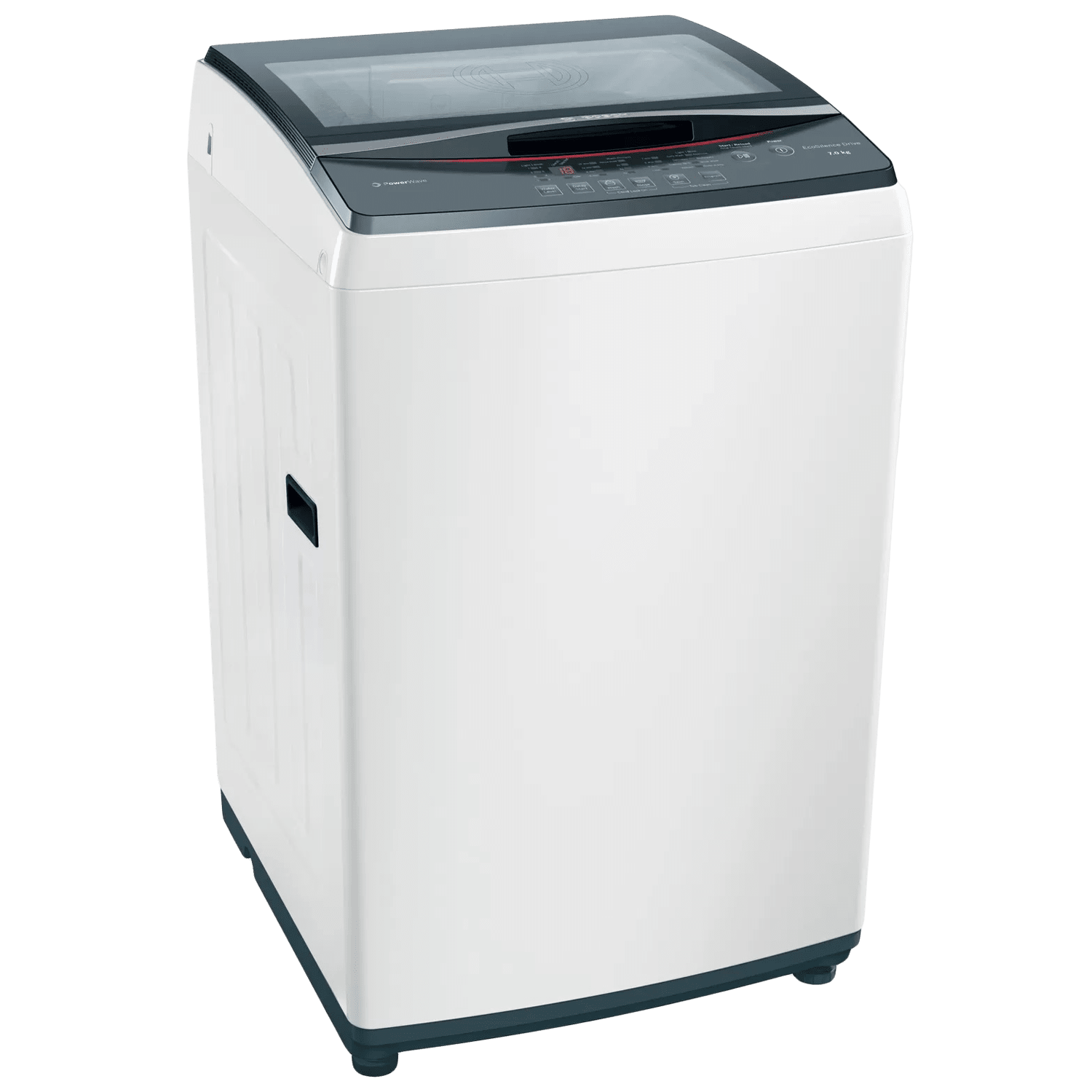 Bosch Serie 4 7 kg 5 Star Fully Automatic Top Load Washing Machine (EcoSilence Drive Friction-Free Motor, WOE704W1IN, White)