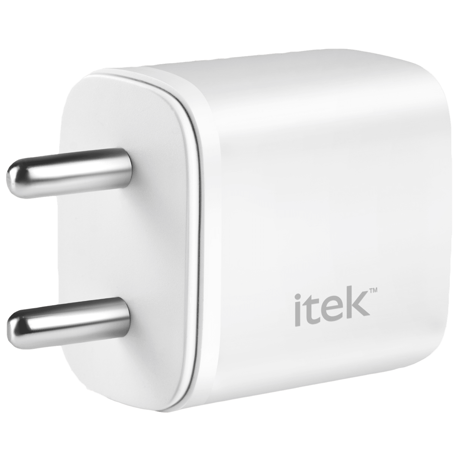 Itek 20 Watts/2.1 Amps 2-Port USB Wall Charging Adapter (Fast Charging Capability, 20wQCPD, White)