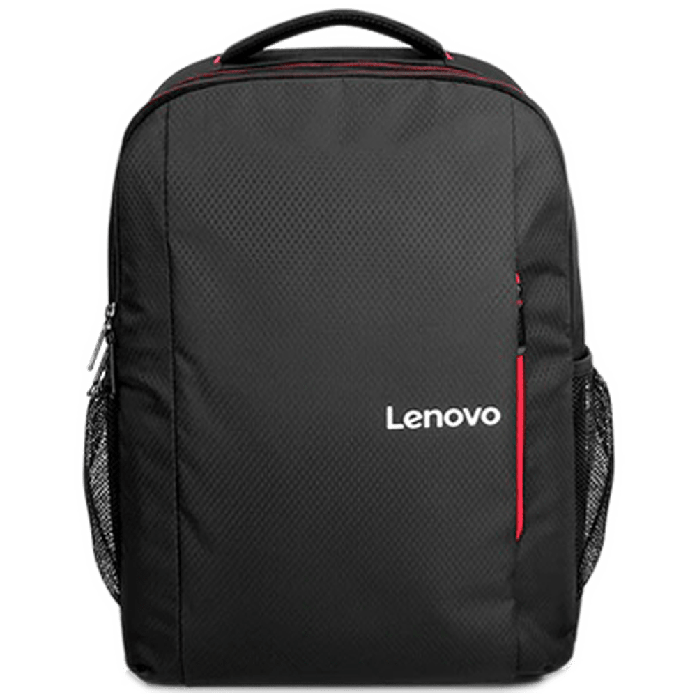 Lenovo B510 Polyester Backpack for 15.6 Inch Laptop (Anti-Theft Compartments, GX40Q75214, Black)