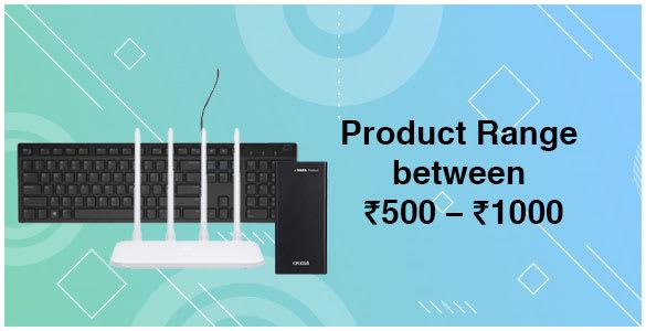 Product Range 500-1000