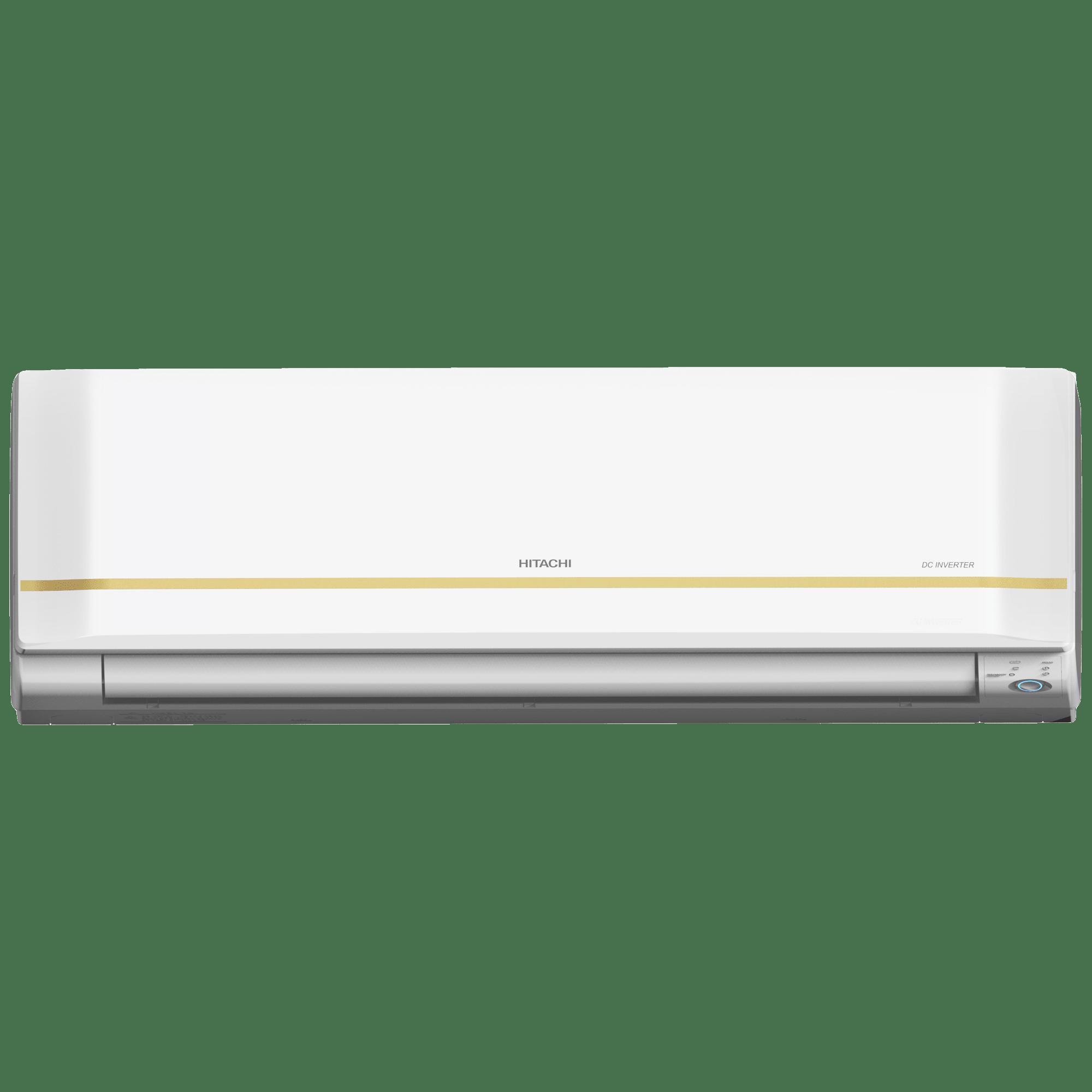 Hitachi Kiyora 5100X 2 Ton 5 Star Inverter Split AC (Copper Condenser, RMRG524HEEA, White)