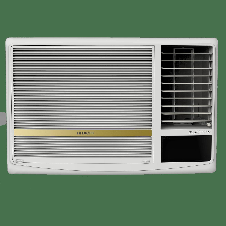 Hitachi SHIZUKA 1.5 Ton 5 Star Inverter Window AC (Copper Condenser, RAW518HDEA, White)