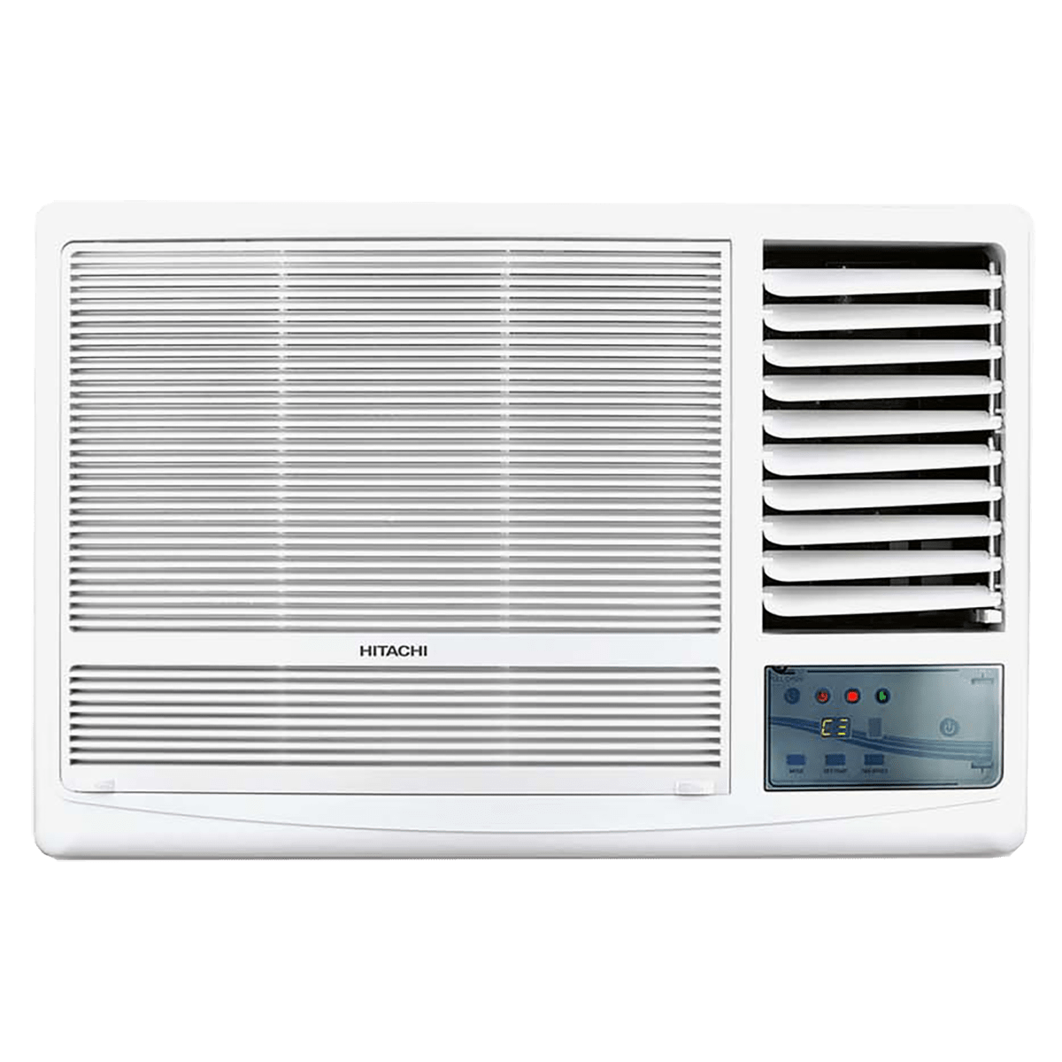 Hitachi Kaze Plus 1.5 Ton 3 Star Window AC (Copper Condenser, RAW318HEDO, White)