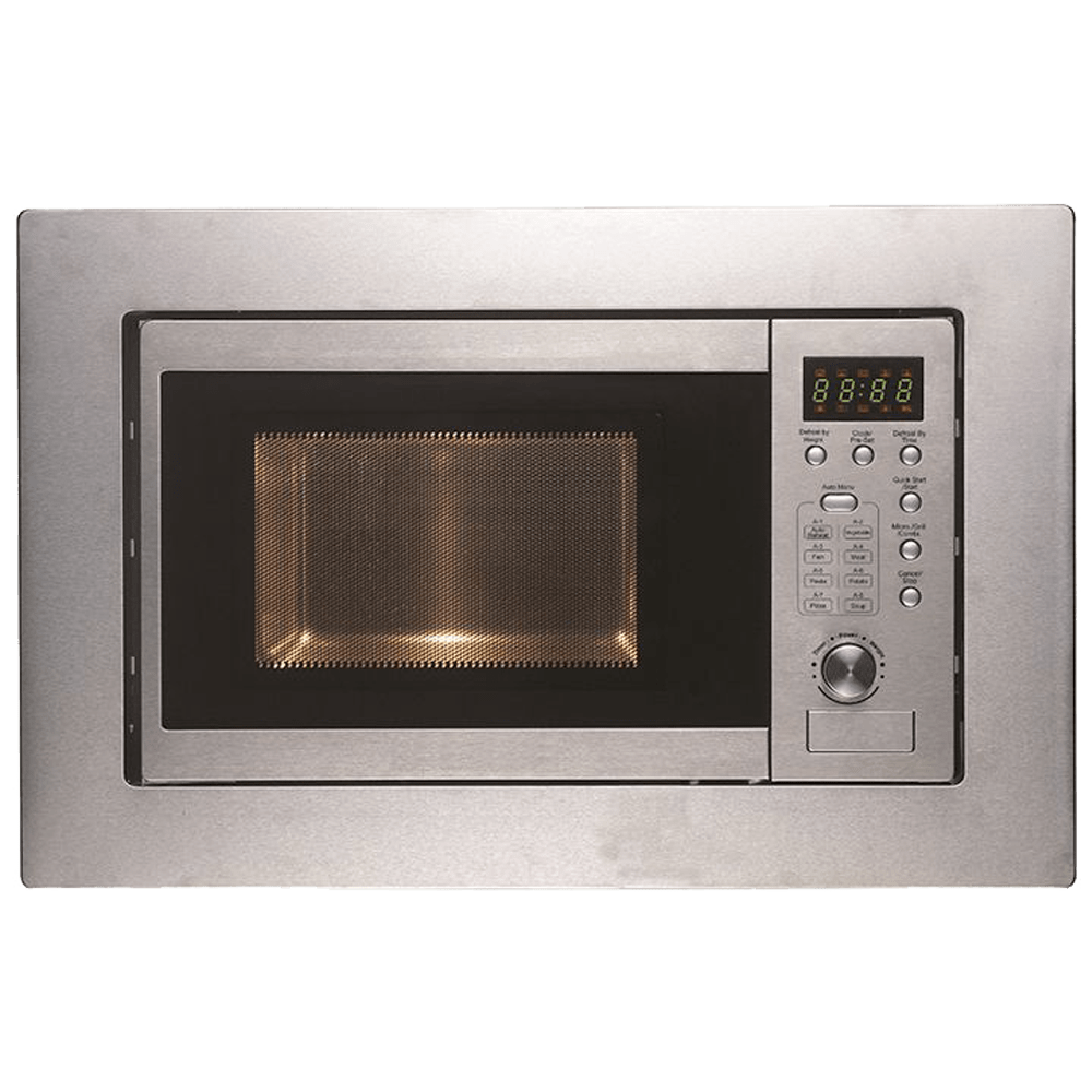 Faber FBIMWO 20 Litres Built-in Microwave Oven (Push Button Control, 131.0520.808, Silver)