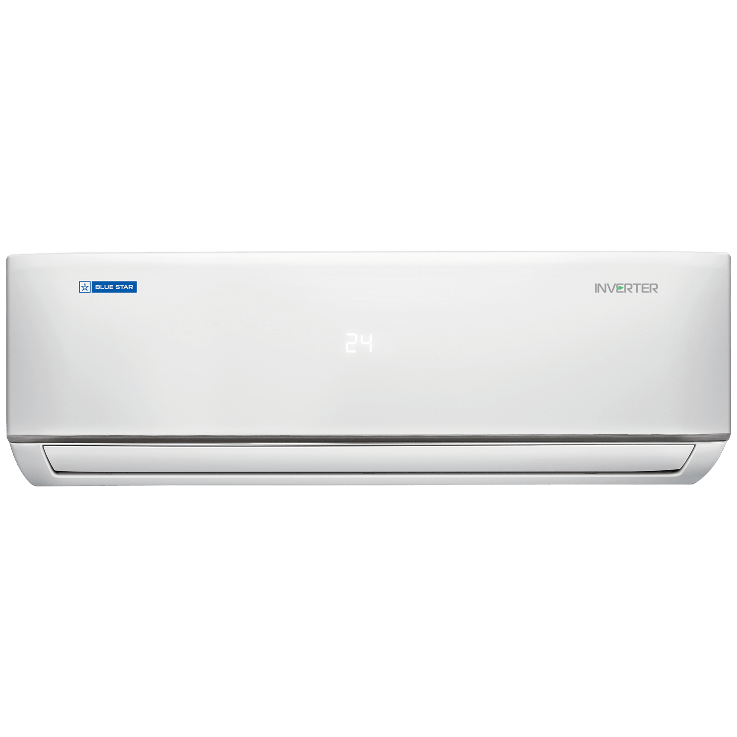 Blue Star DL LV 1.5 Ton 5 Star Inverter Split AC (Air Purification Function, Copper Condenser, IC518DLTULV, White)