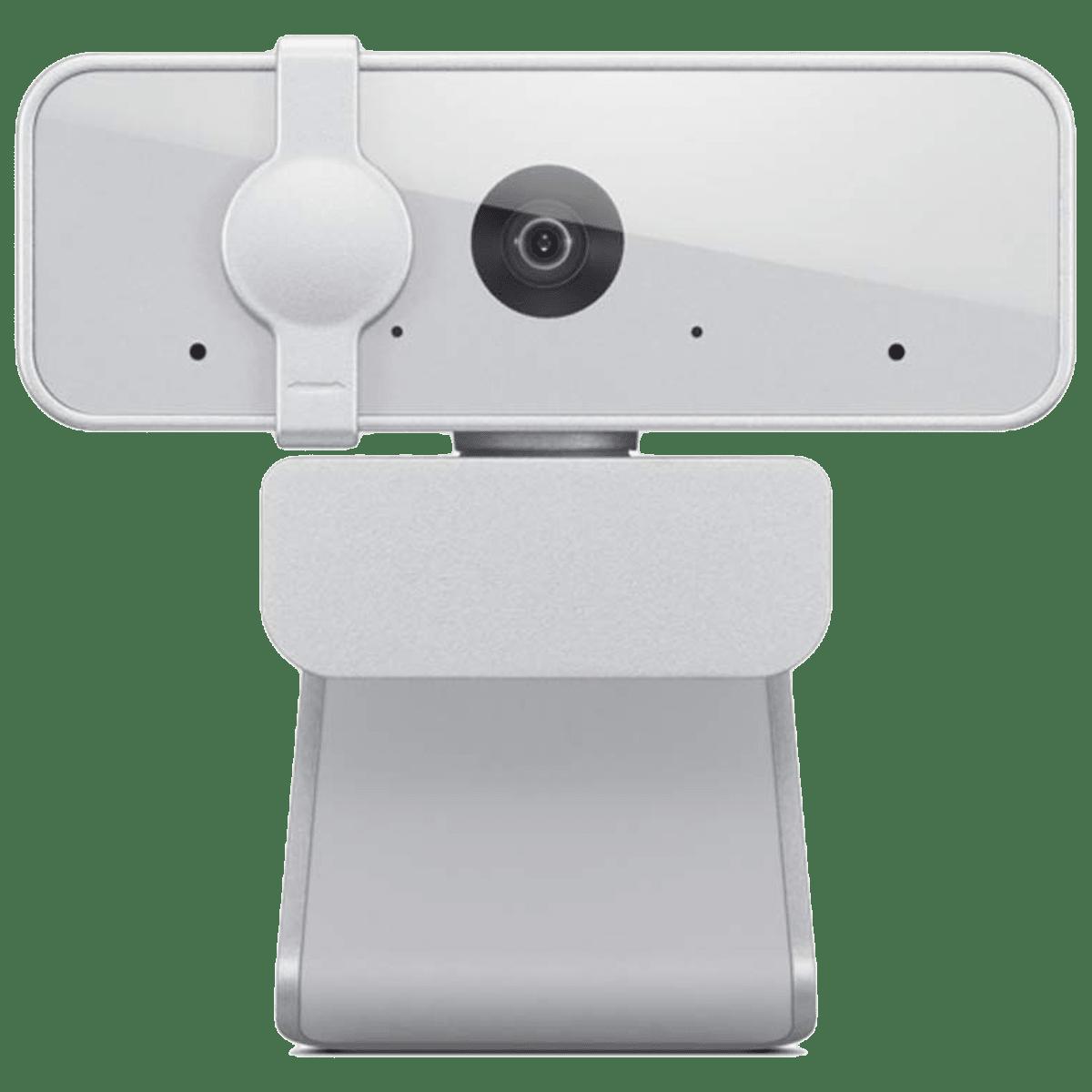 Lenovo 300 USB 2.1 MP Web Cam (Full HD Video Call, GXC1B34793, Cloud Grey)