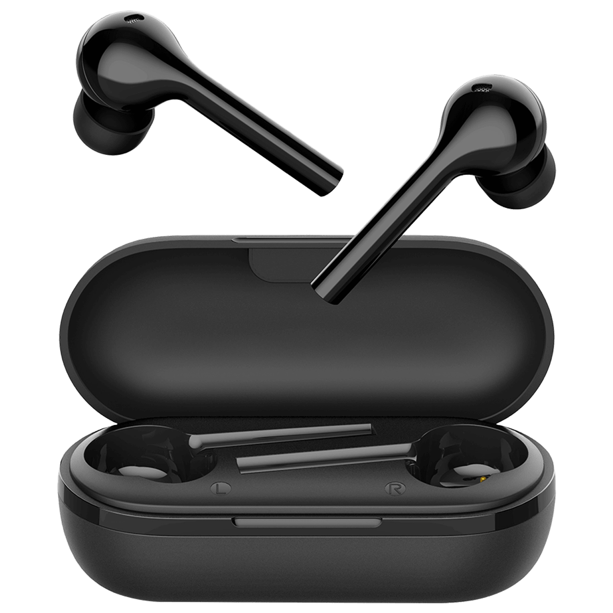 Lumiford Maximus In-Ear Truly Wireless Earbuds with Mic (Bluetooth 5.0, Voice Assistant Supported, T55, Black)