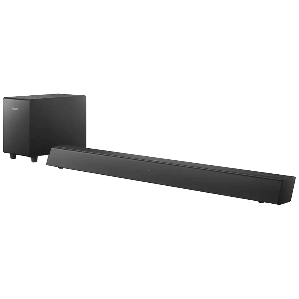 Philips 2.1 Channel 70 Watts Sound Bar (Clearer Sound and Deeper Bass, TAB5305/94, Black)