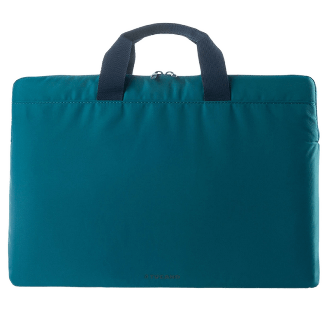 Tucano Minilux Nylon Sleeve for 13-15 Inch Laptop (Internal Anti-Shock Padding, BFML1314-B, Blue)