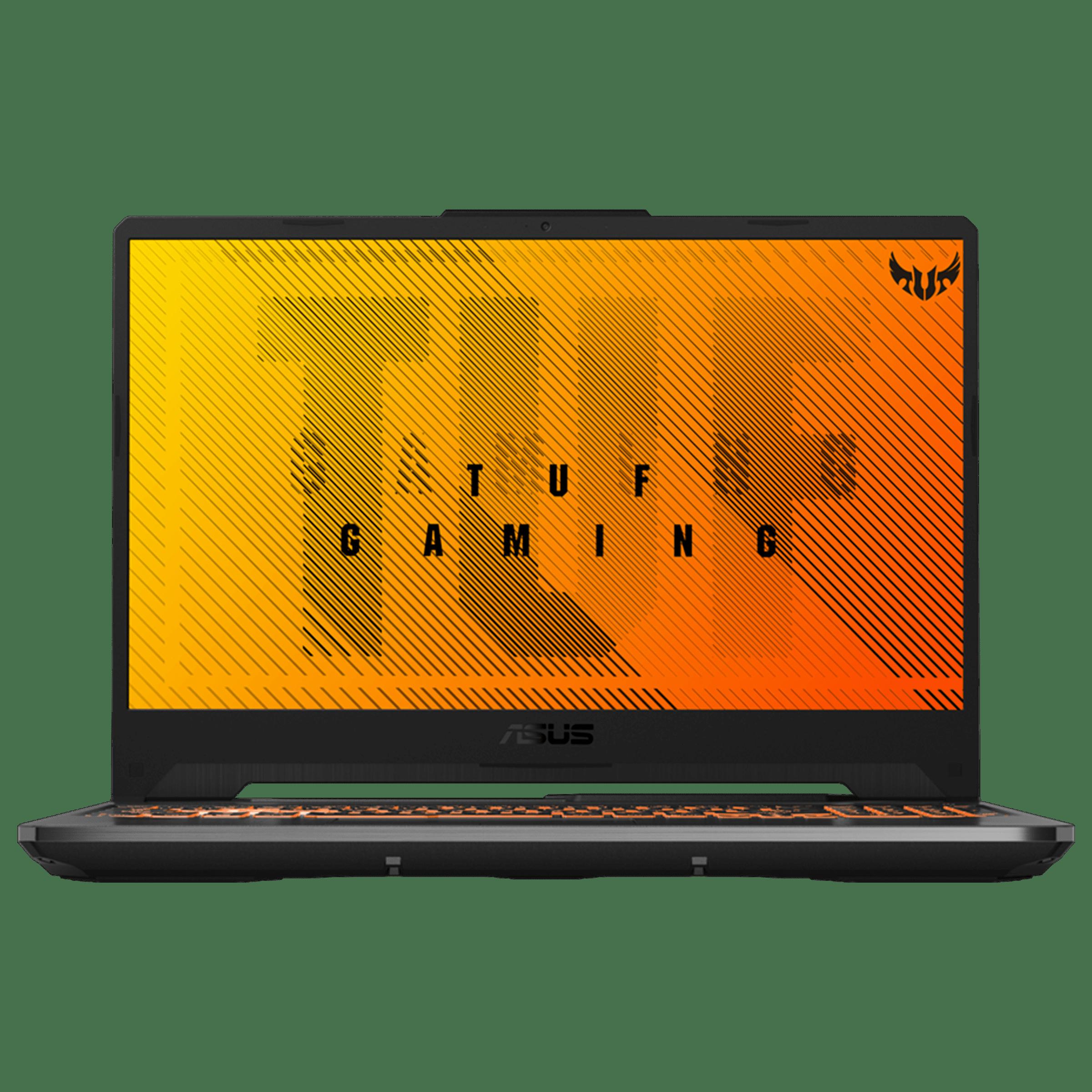 Asus TUF Gaming F15 (FX506LI-HN012TS) Core i5 10th Gen Windows 10 Home Gaming Laptop (8GB RAM, 512GB SSD, NVIDIA GeForce GTX 1650 Ti + 4GB Graphics, MS Office, 39.62cm, Bonfire Black)