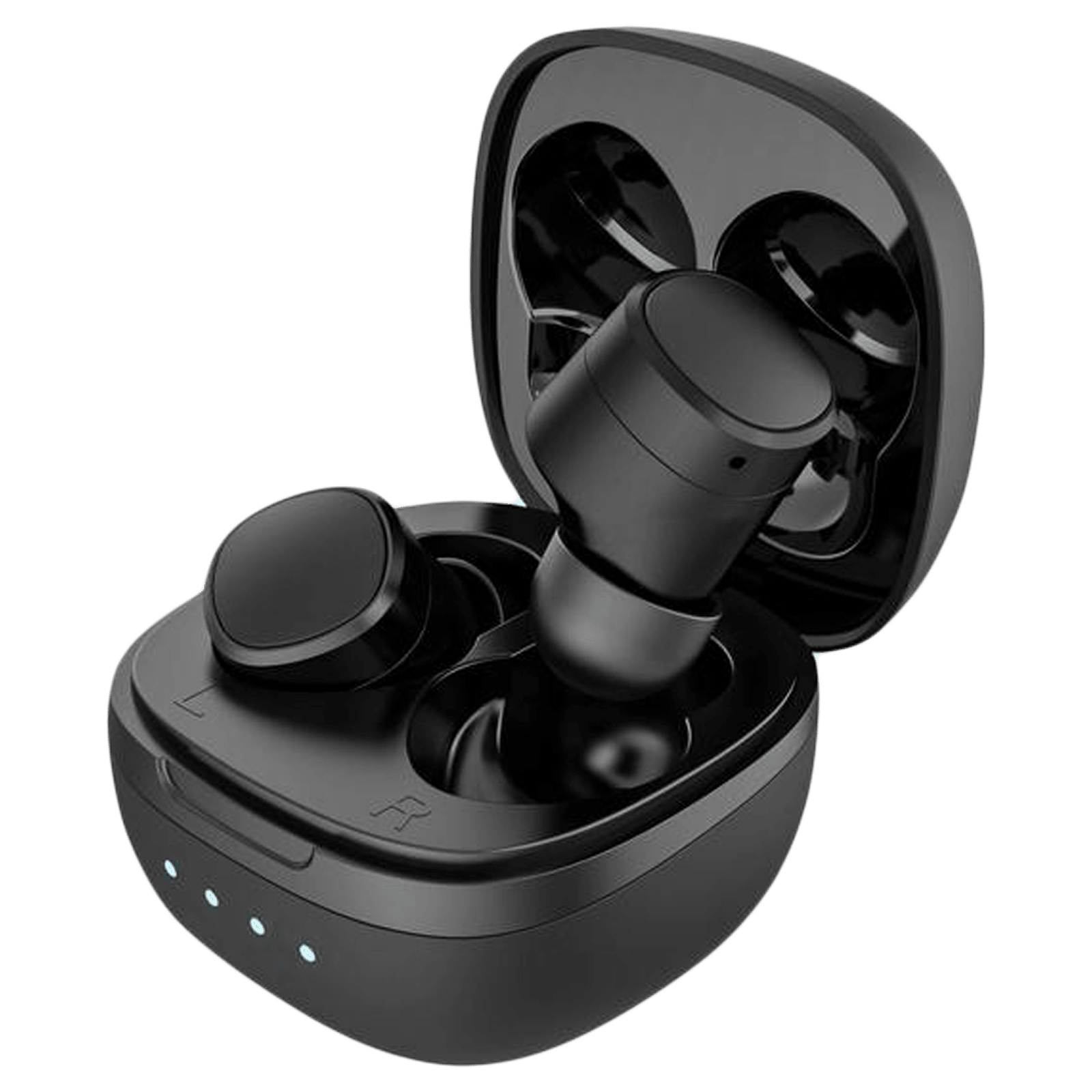 Ambrane NeoBuds 22 In-Ear Truly Wireless Earbuds with Mic (Bluetooth 5.0, Clear Calling, Black)