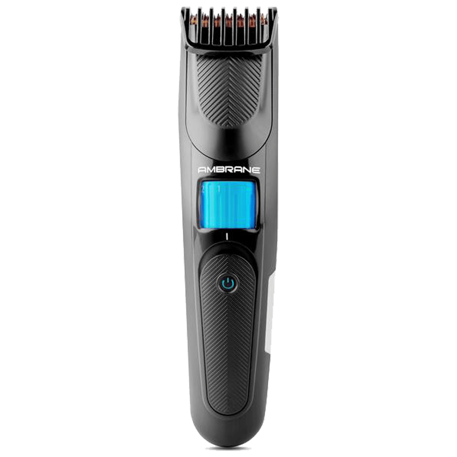 Ambrane Aura Stainless Steel Blades Cordless Trimmer (20 Length Settings, ATR-11, Black)