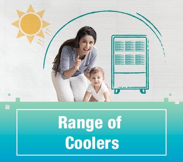 Range of Coolers