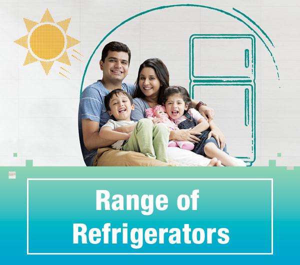 Range of Refrigerators