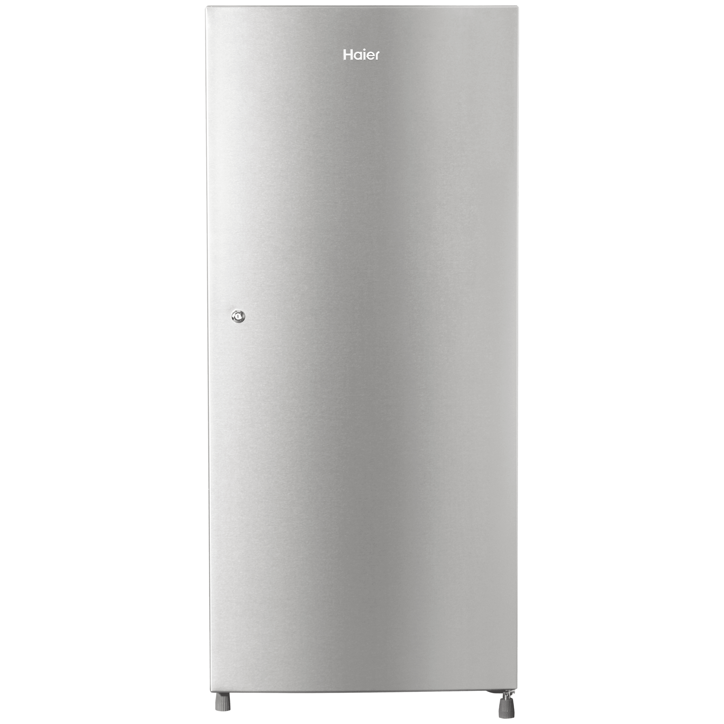 Haier 195 Litres 5 Star Direct Cool Inverter Single Door Refrigerator (1 Hour Icing Technology, HRD-1955CTS-E, Titanium Steel)
