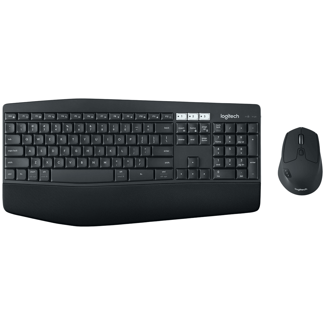 Logitech MK850 Bluetooth, Wireless Keyboard & Mouse Combo (Advanced Optical Tracking, 920-008233, Black)
