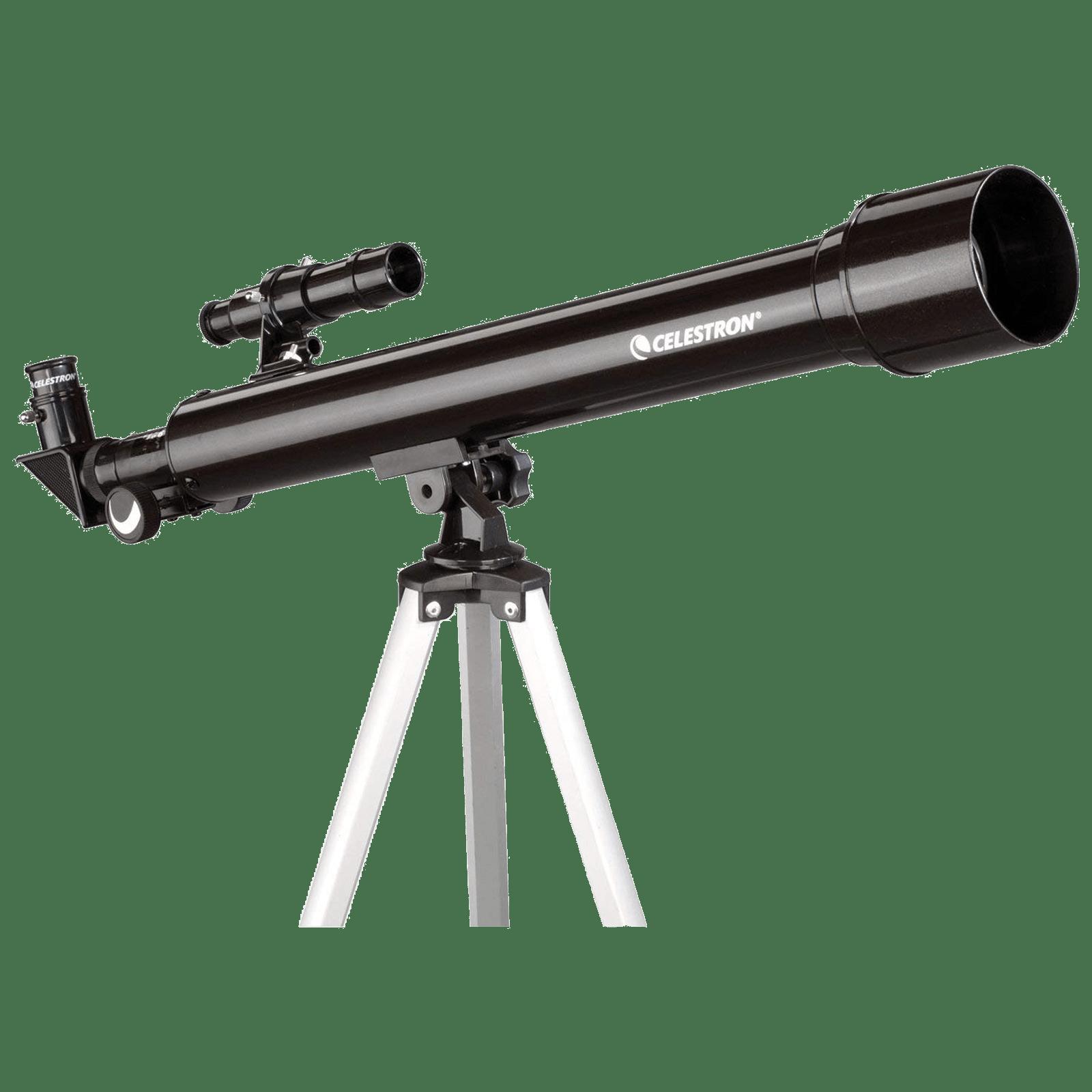 Celestron Powerseeker 50AZ 118x 20mm Telescope (Manual Alt-Azimuth Mount, 21039-DS, Black)