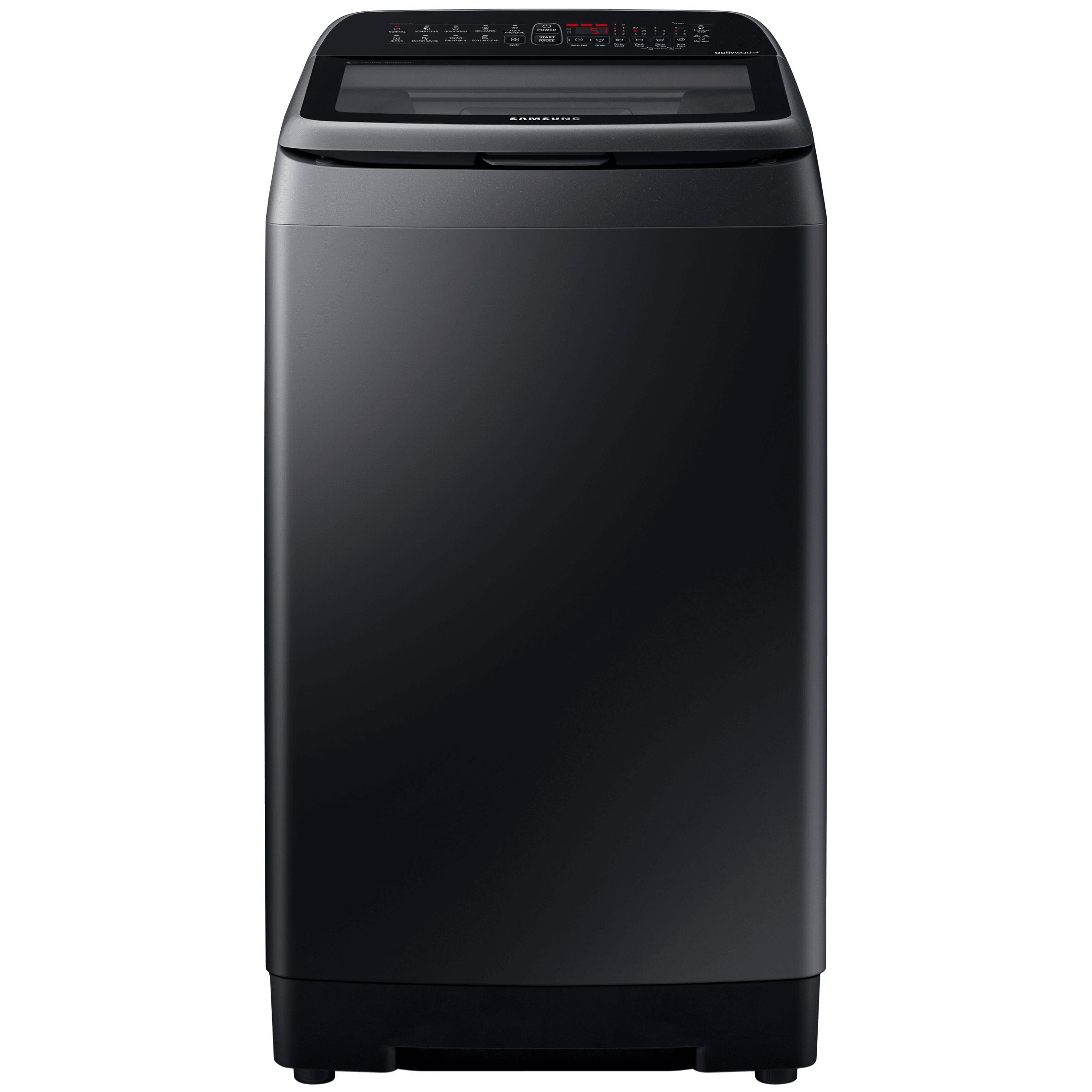 Samsung 8 kg 5 Star Fully Automatic Top Load Washing Machine (Inverter Technology, WA80N4770VV/TL, Black Caviar)