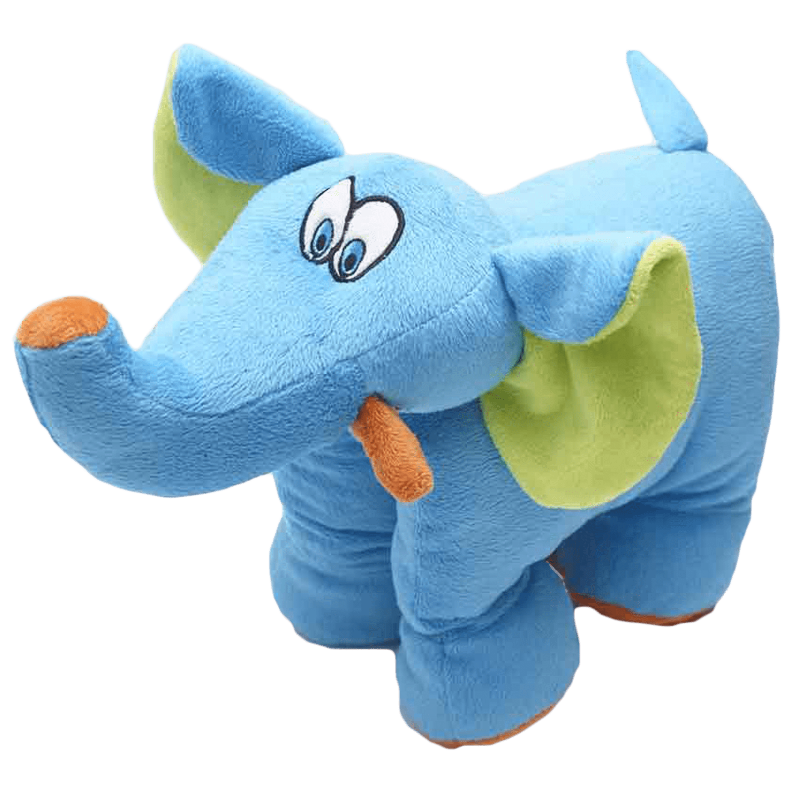 Travel Blue Trunky The Elephant Polyester Neck Pillow (Soft and Comfortable, Multicolor)