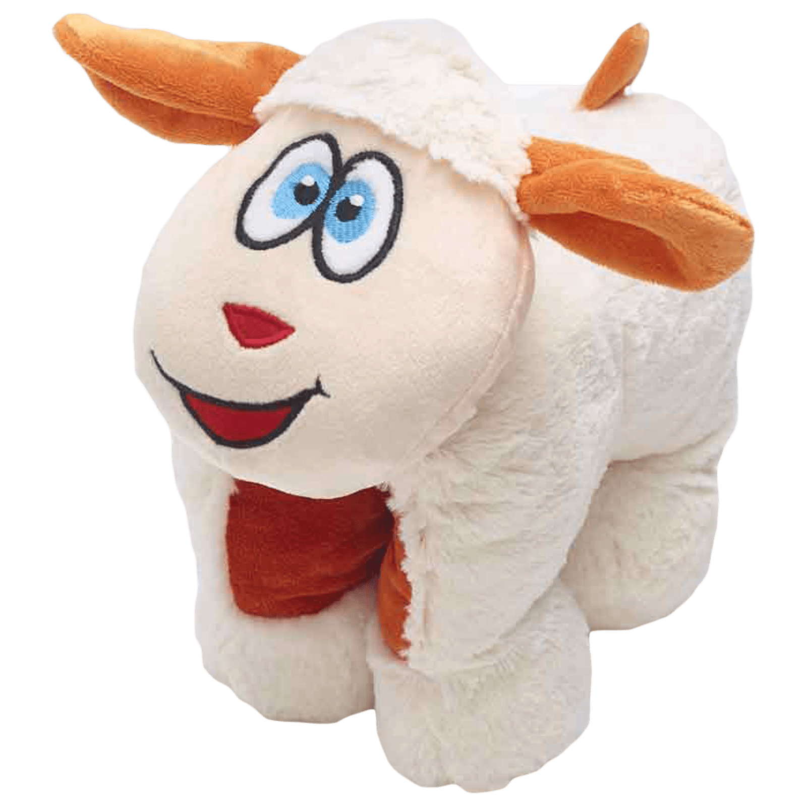 Travel Blue Snowy The Sheep Polyester Neck Pillow (Soft and Comfortable, Multicolor)