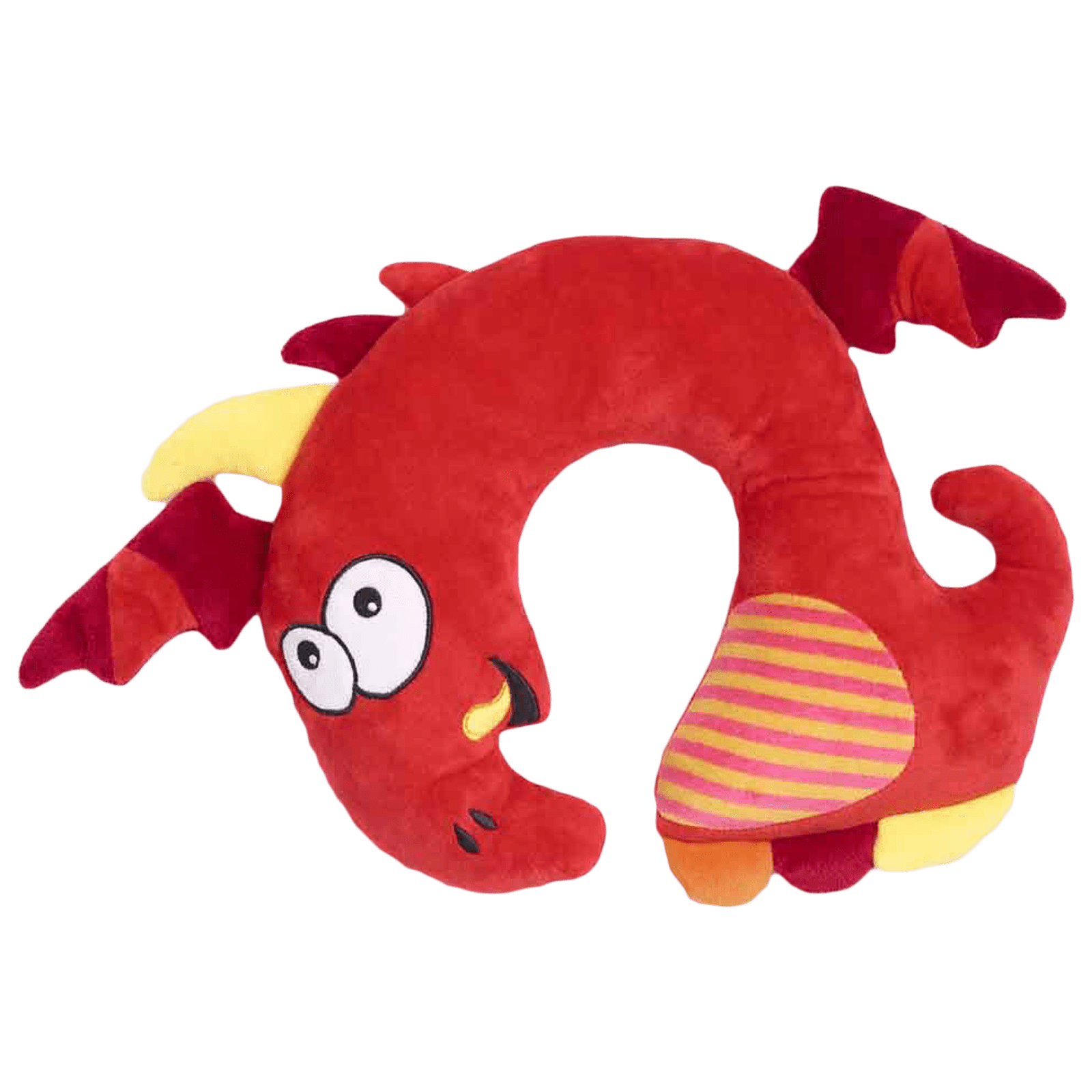 Travel Blue Tobi The Dragon Polyester Neck Pillow (Soft and Comfortable, Multicolor)