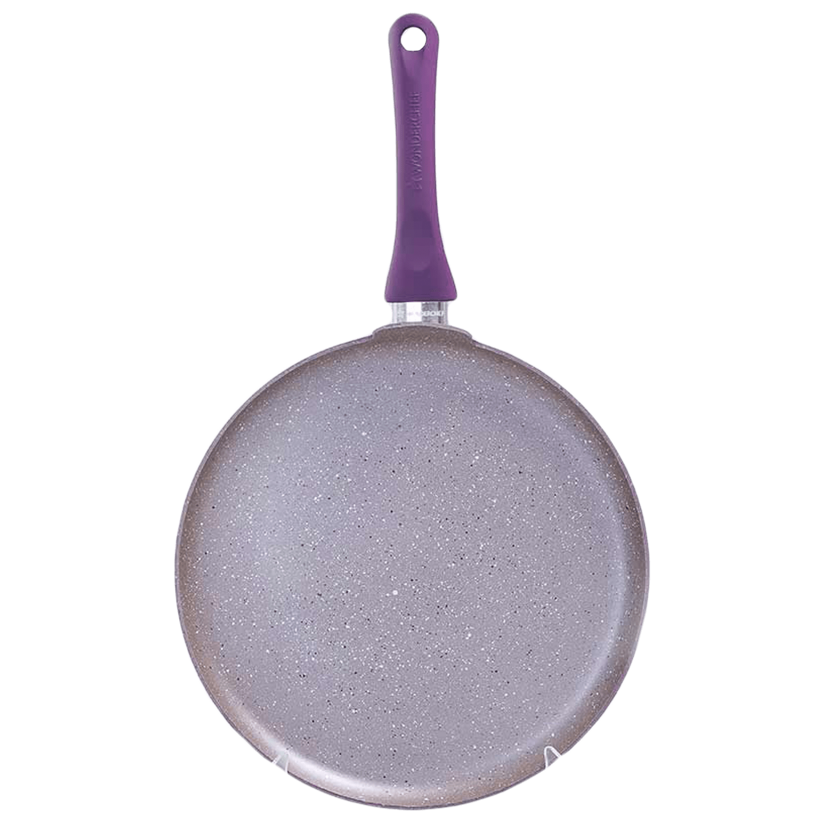 Wonderchef Royal Velvet Dosa Tawa For Induction Plate, Stoves & Cooktops (Non-Stick Coating, 63152111, Purple)