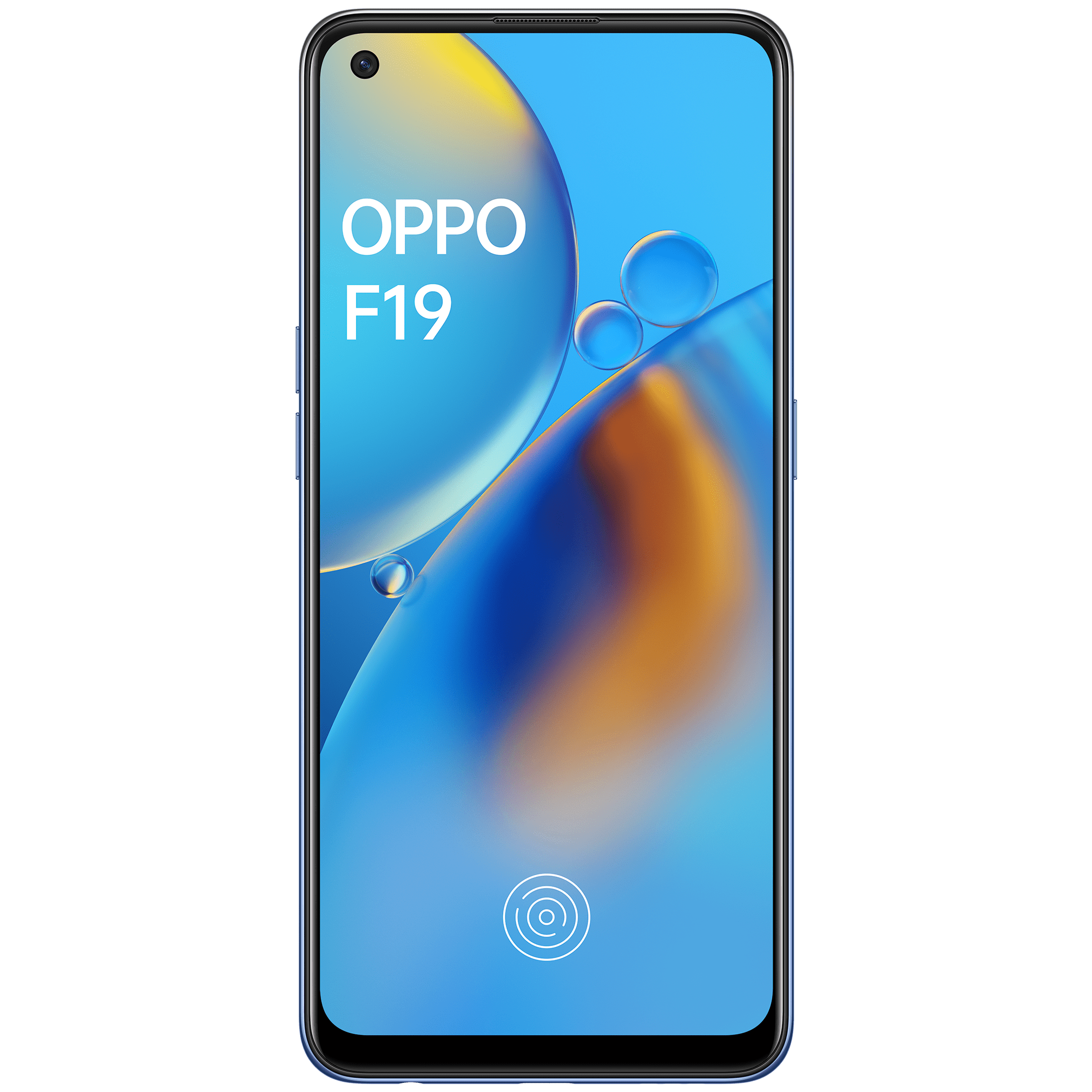 Oppo F19 (128GB ROM, 6GB RAM, CPH2219, Midnight Blue)