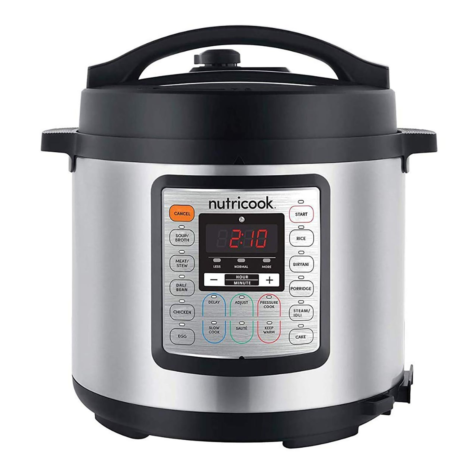 Nutricook by NutriBullet 6 Litres Electric Cooker (9-Appliances in-1, NCSPEK6, Silver)
