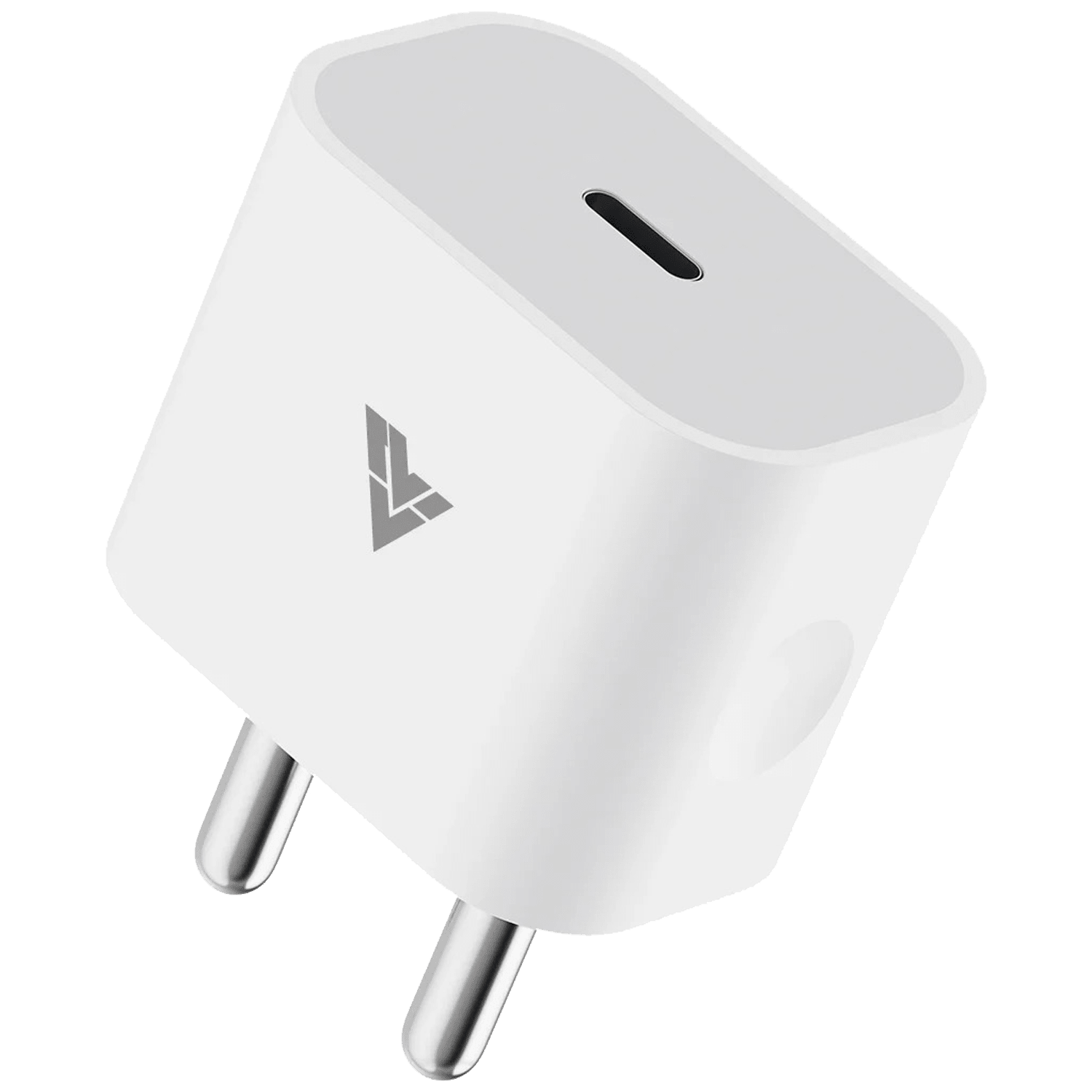 Vaku Luxos 20 Watts/4 Amps 1-Port USB Type-C Wall Charging Adapter (Fast Charging Capability, 20WPD, White)